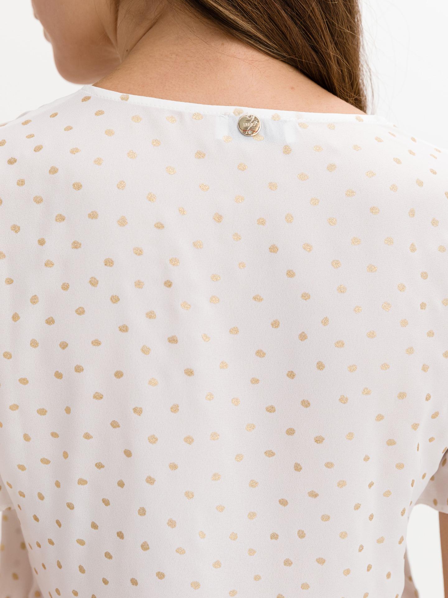 Liu Jo bianco camicetta