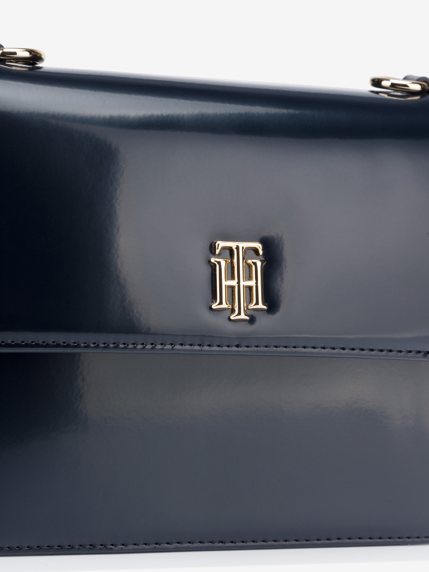 Tommy Hilfiger blu crossbody borsetta Monogram Plaque