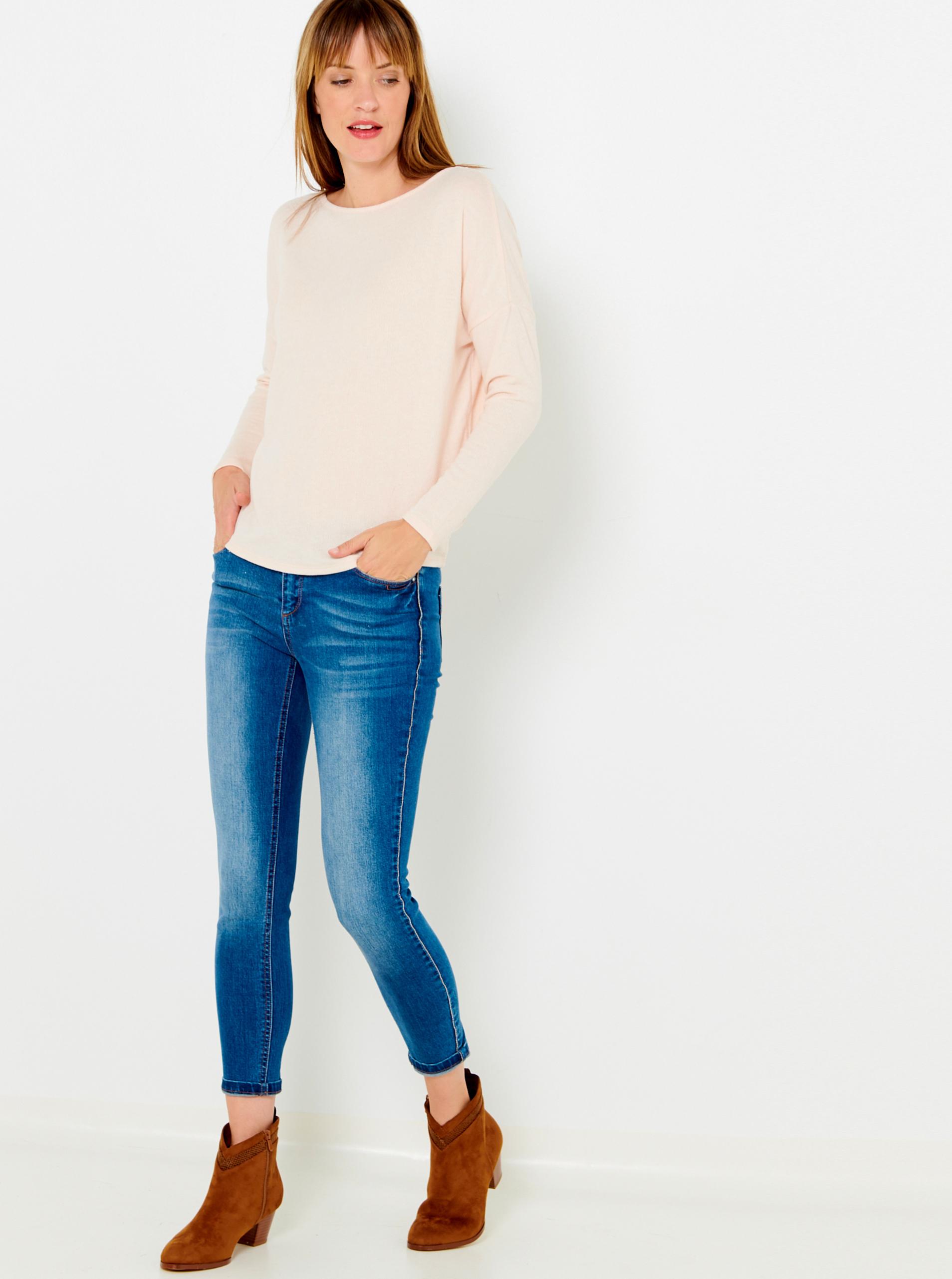 CAMAIEU rosa maglietta