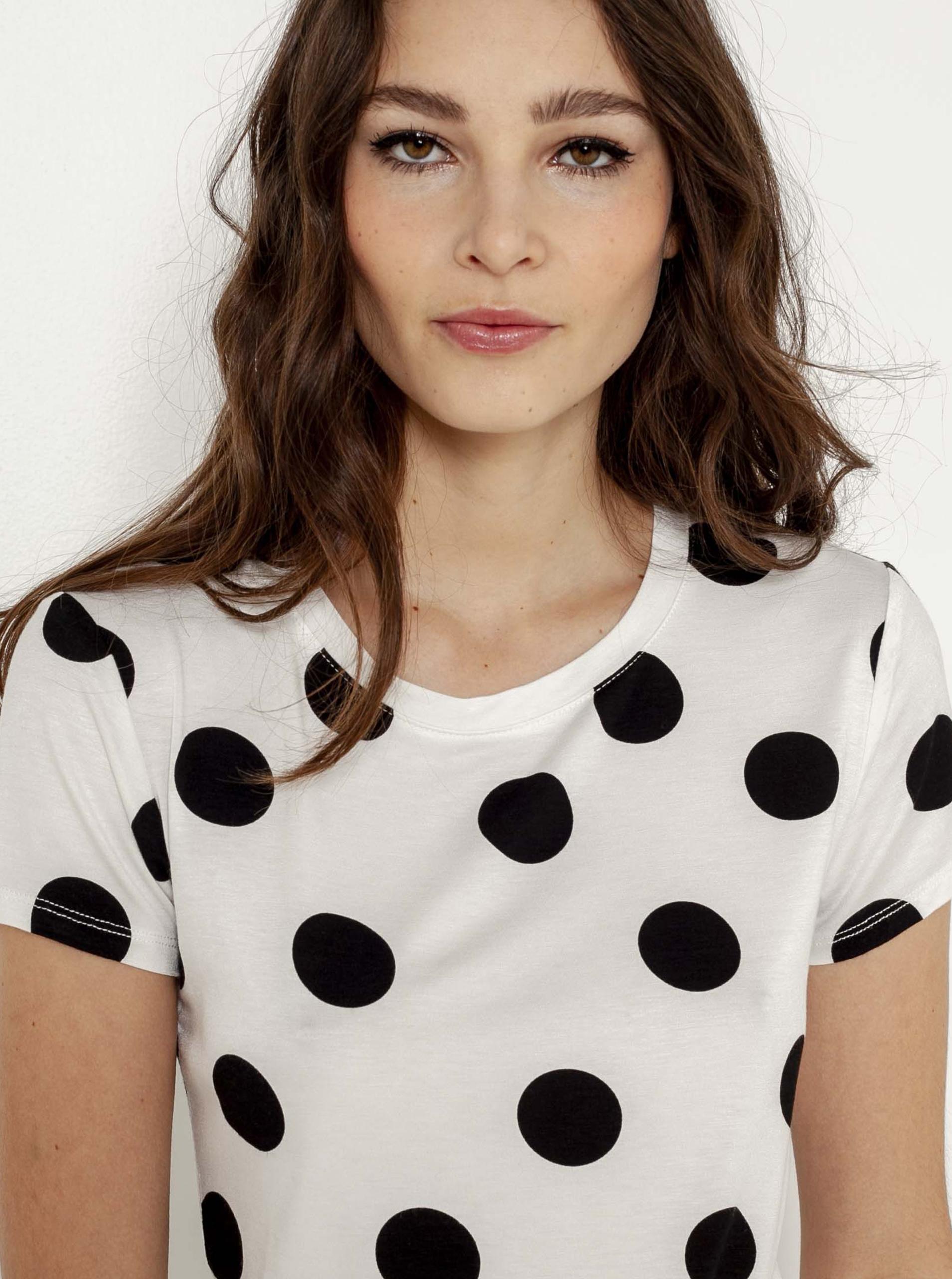 CAMAIEU bianco maglietta