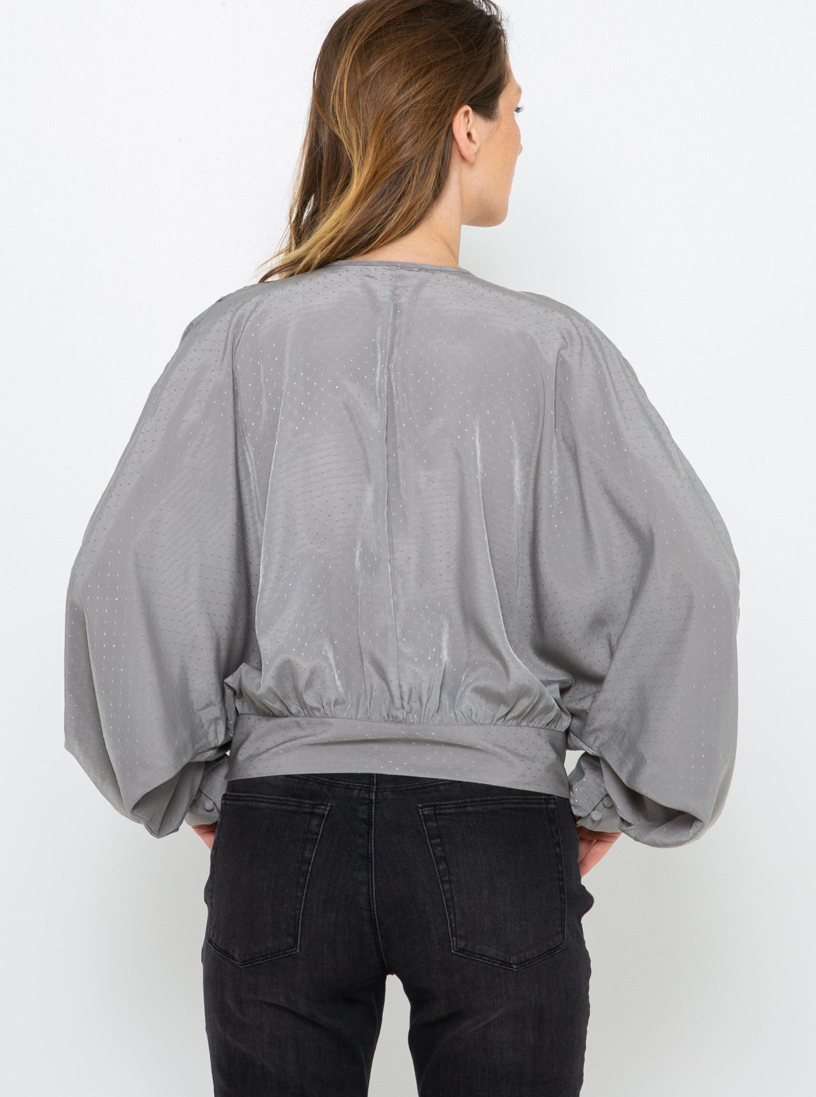 CAMAIEU grigio camicetta