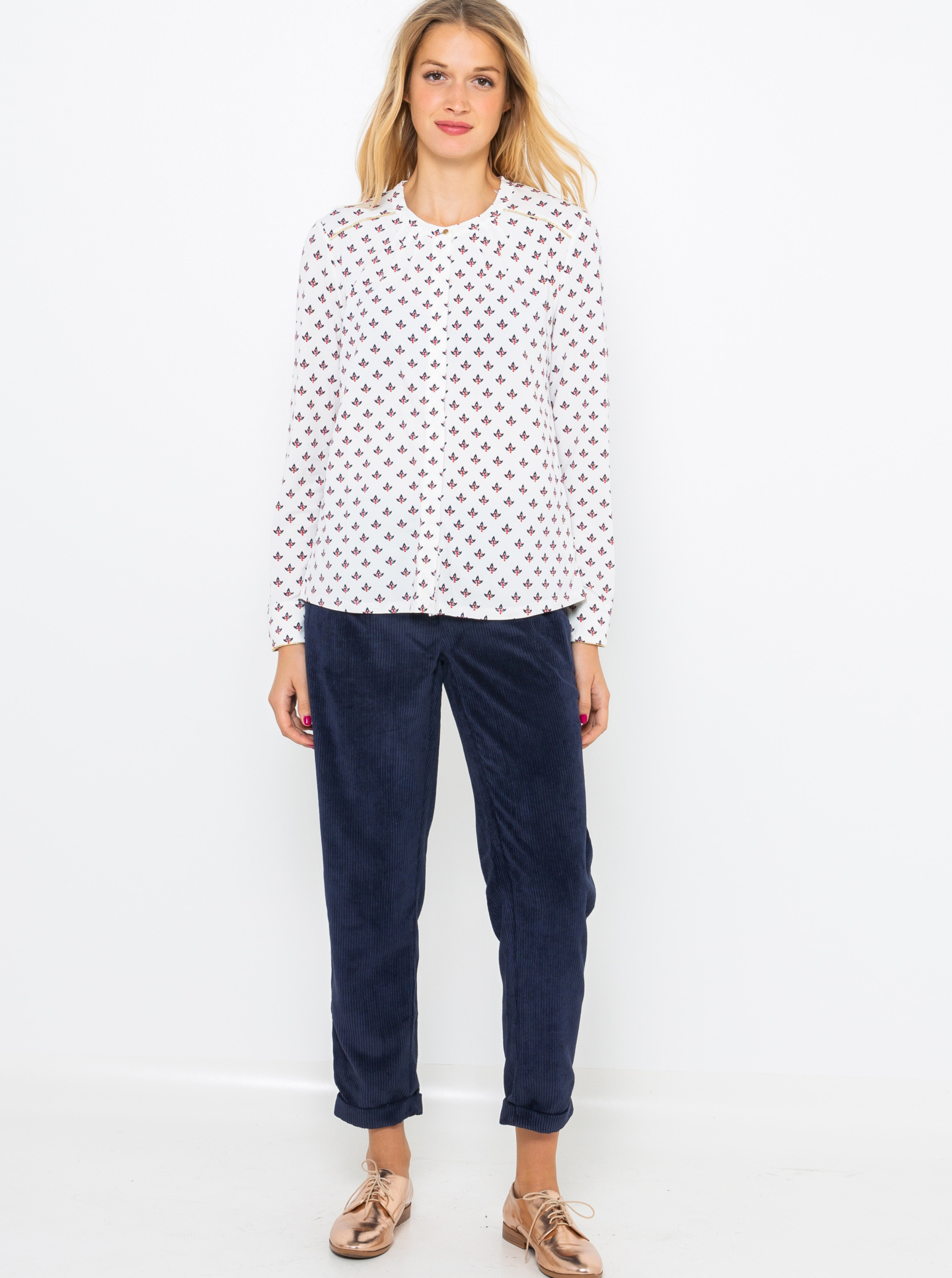 CAMAIEU Maglietta donna bianco