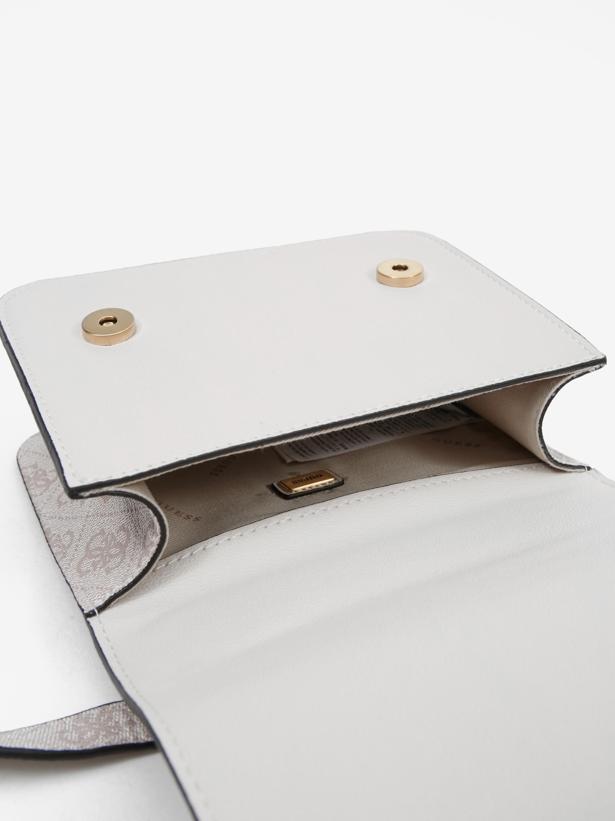 Guess bianco crossbody borsetta Noelle Mini