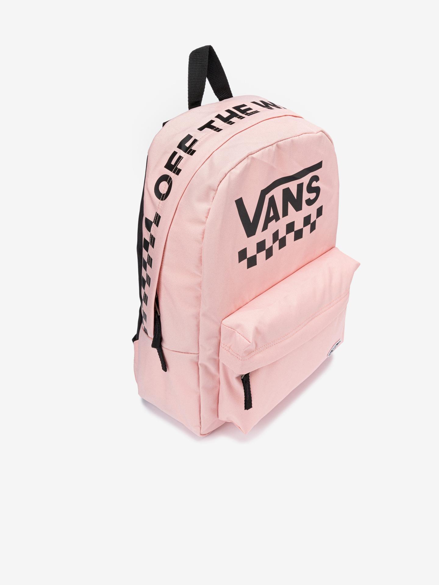 Vans rosa zaino Street Sport Real