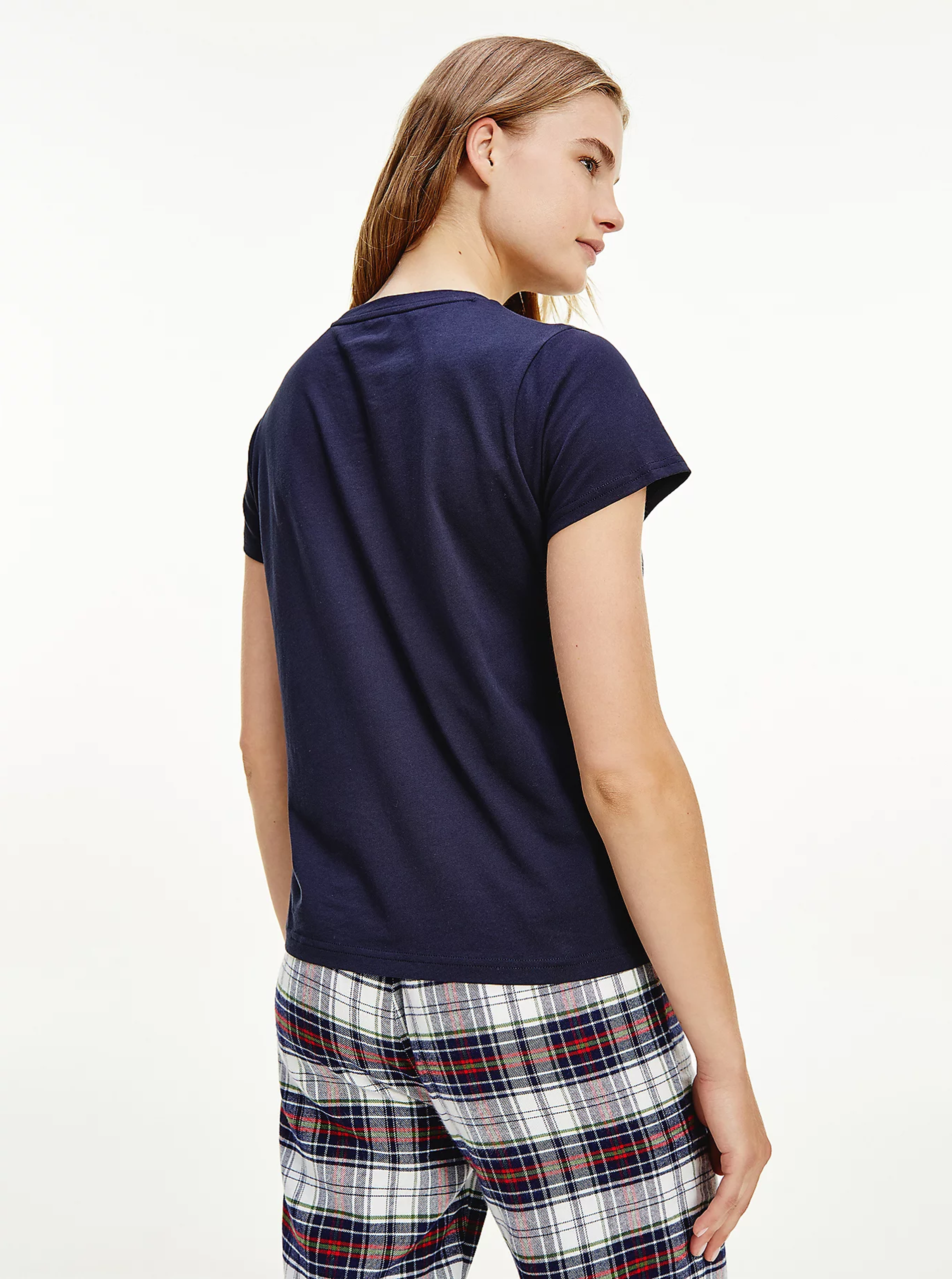 Tommy Hilfiger blu da donna maglietta