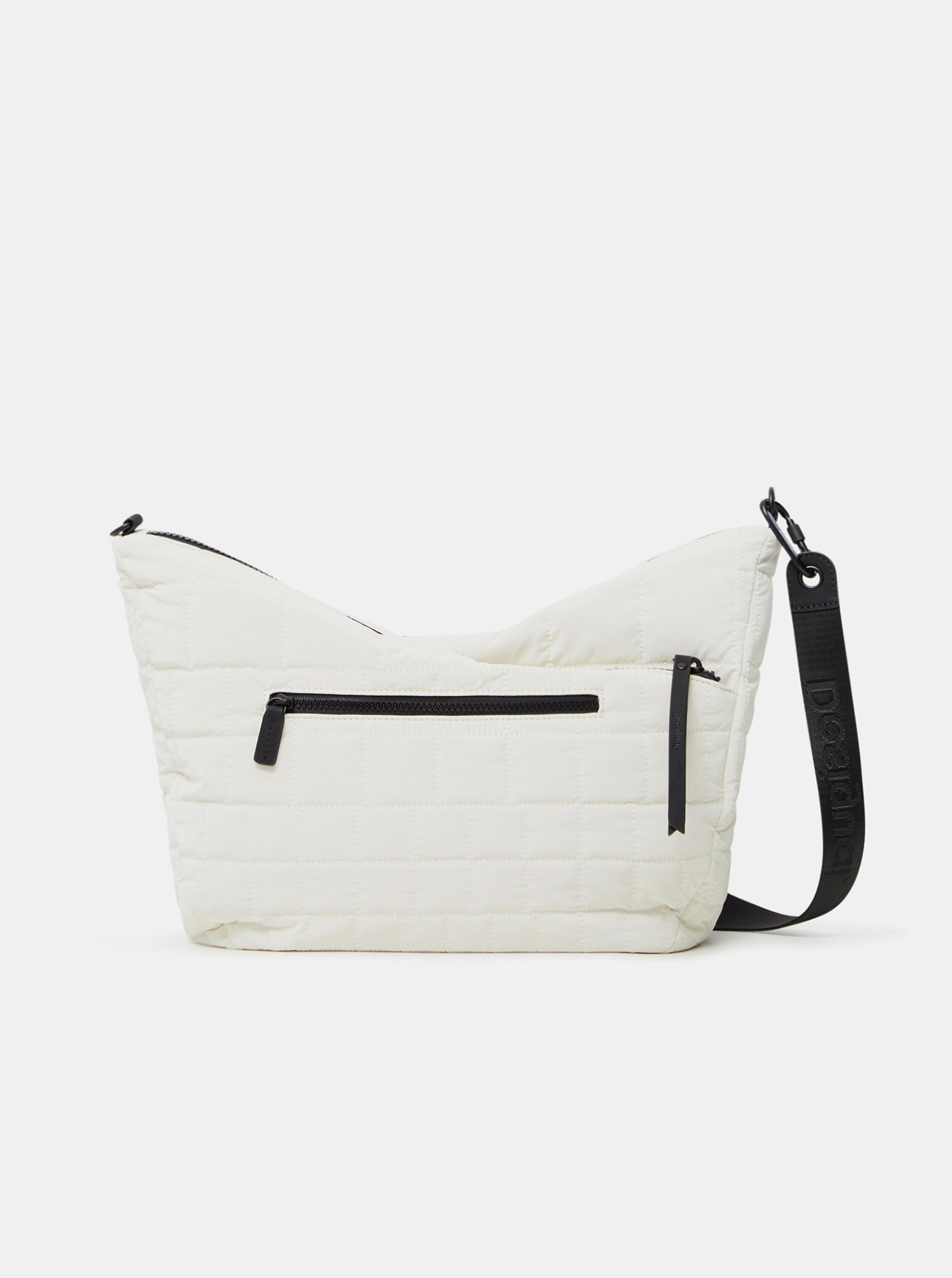 Desigual bianco borsetta COcoa Harry 2.0 Maxy