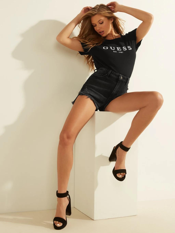 Guess Maglietta donna nero