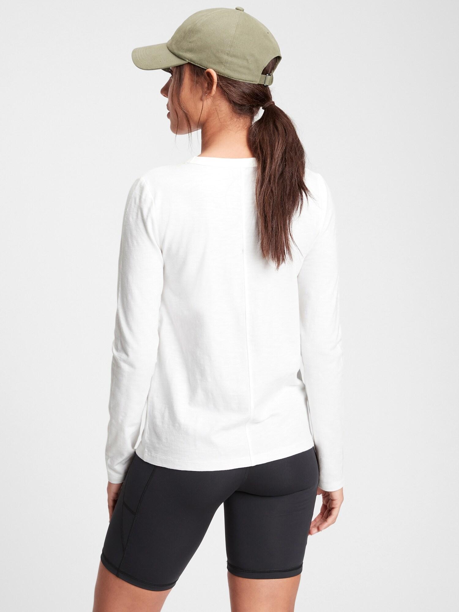 GAP Magliette, Top donna bianco Basic