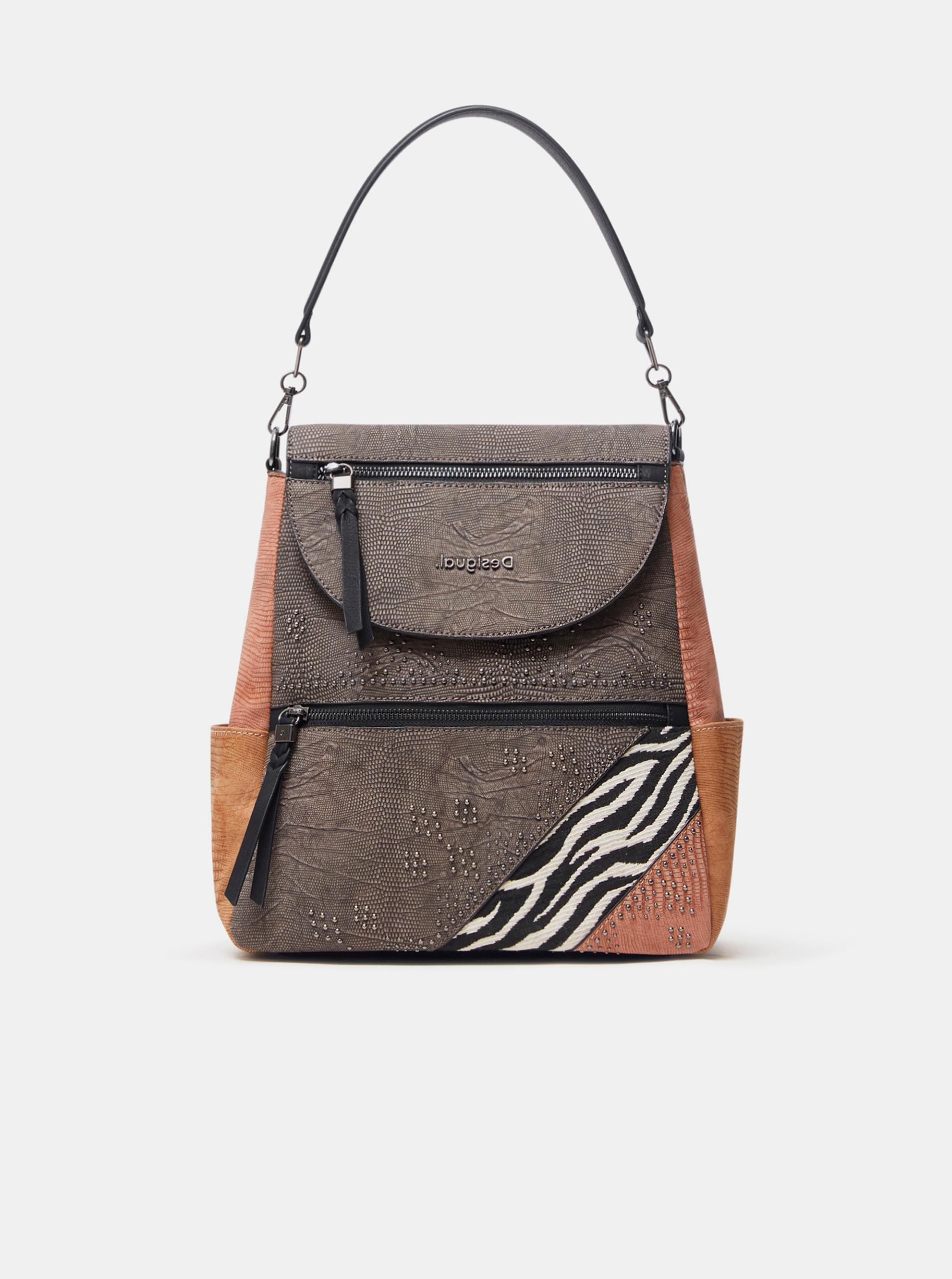 Desigual grigio borsetta Mona Positano