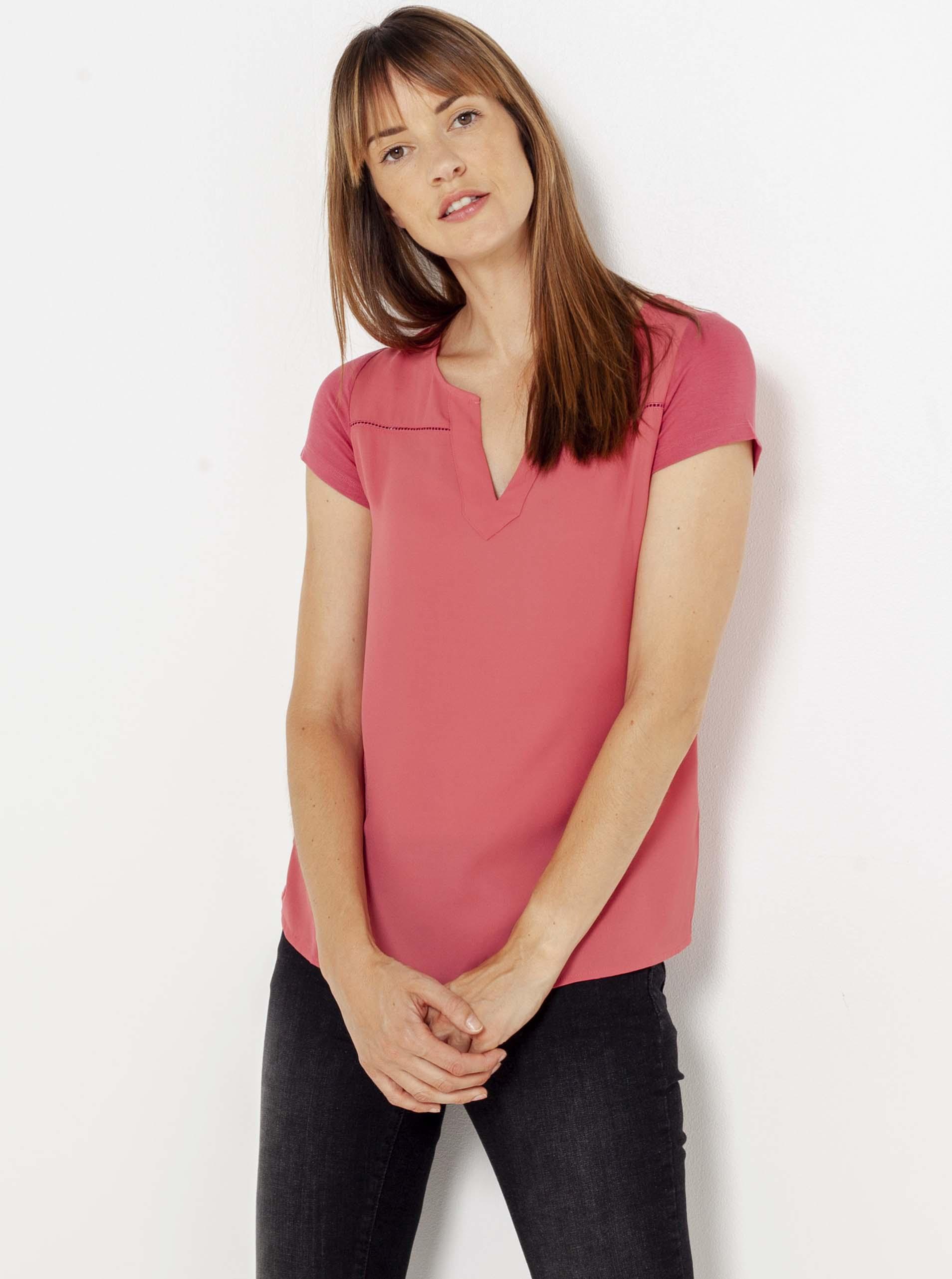 CAMAIEU Blusa donna rosa