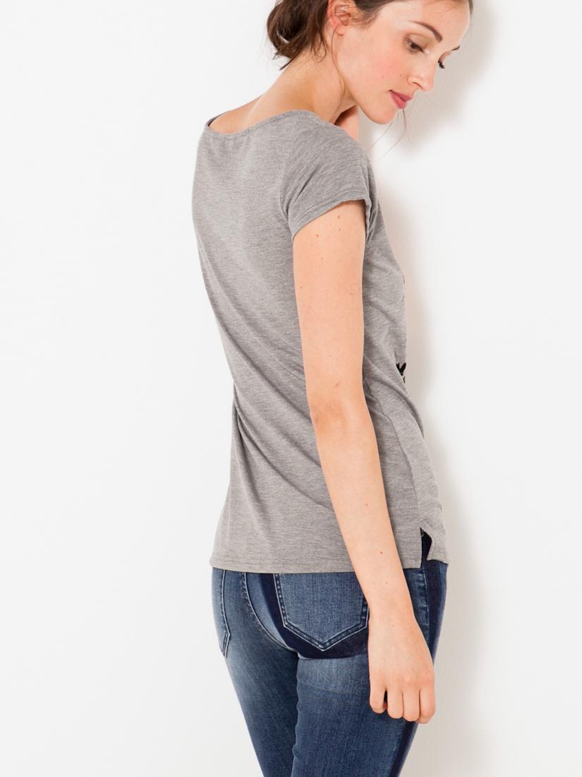CAMAIEU Maglietta donna grigio
