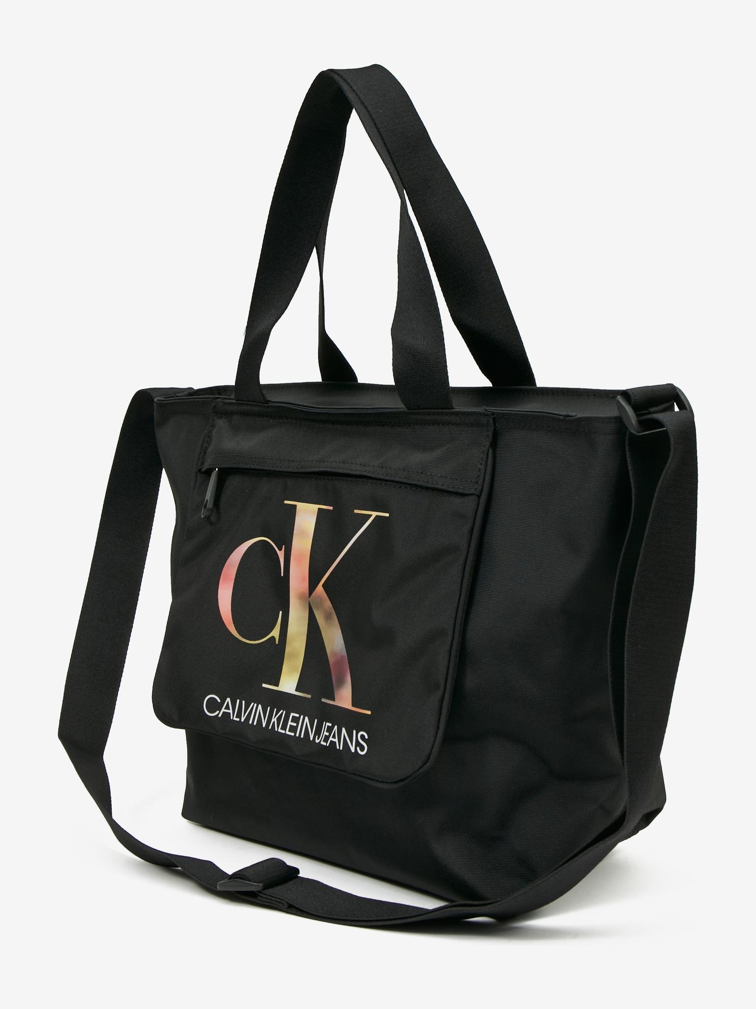 Calvin Klein nero borsetta Sport Essential