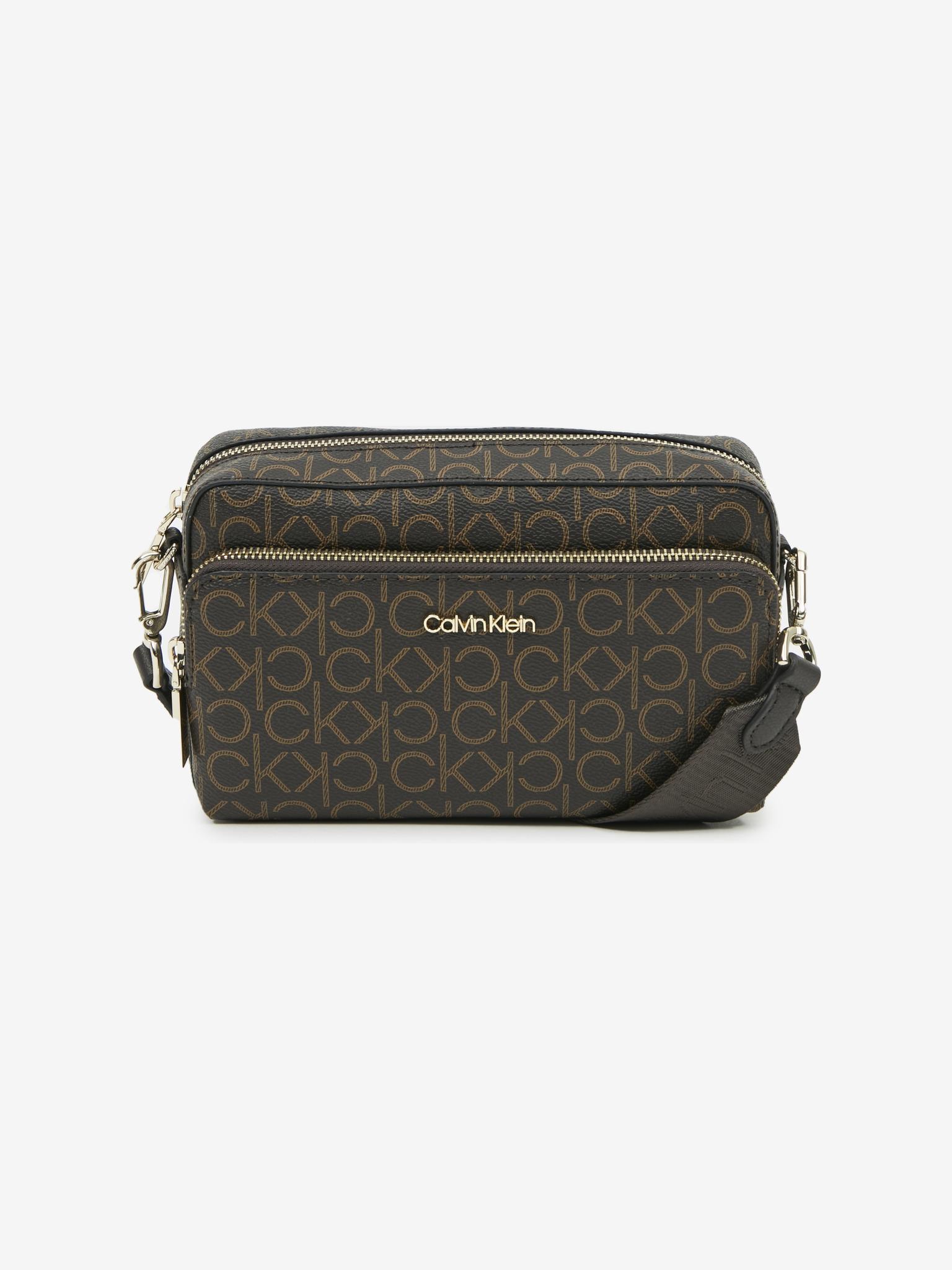 Calvin Klein marrone crossbody borsetta Must Camera