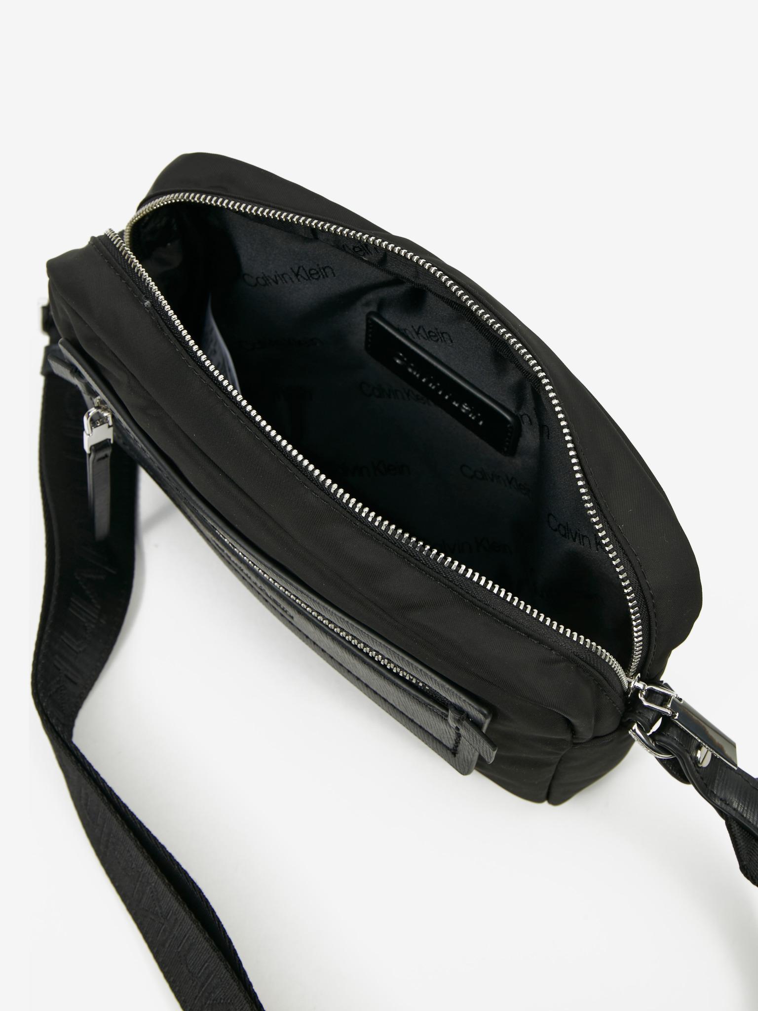 Calvin Klein nero crossbody borsetta Essential