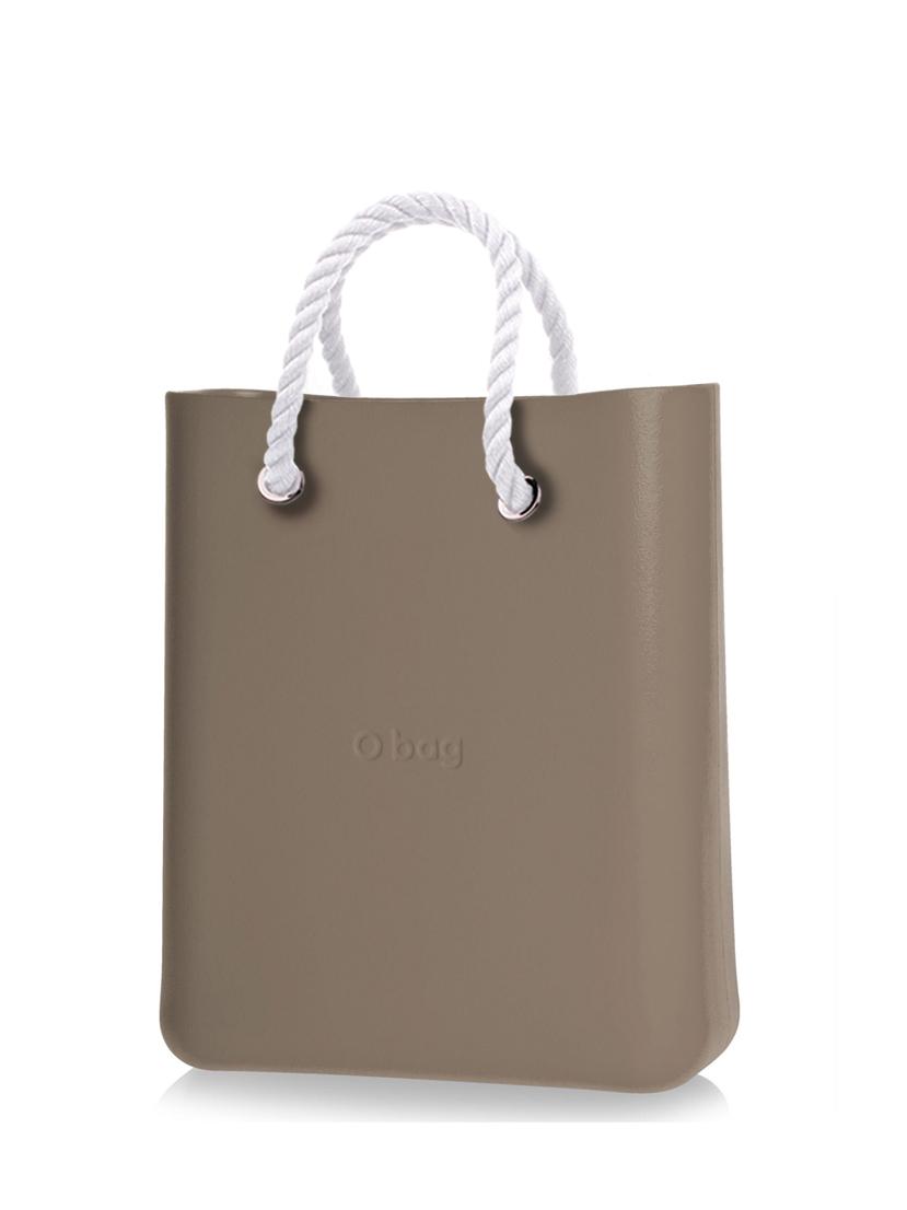 O bag  O Chic borsetta Rock con corde corte bianco