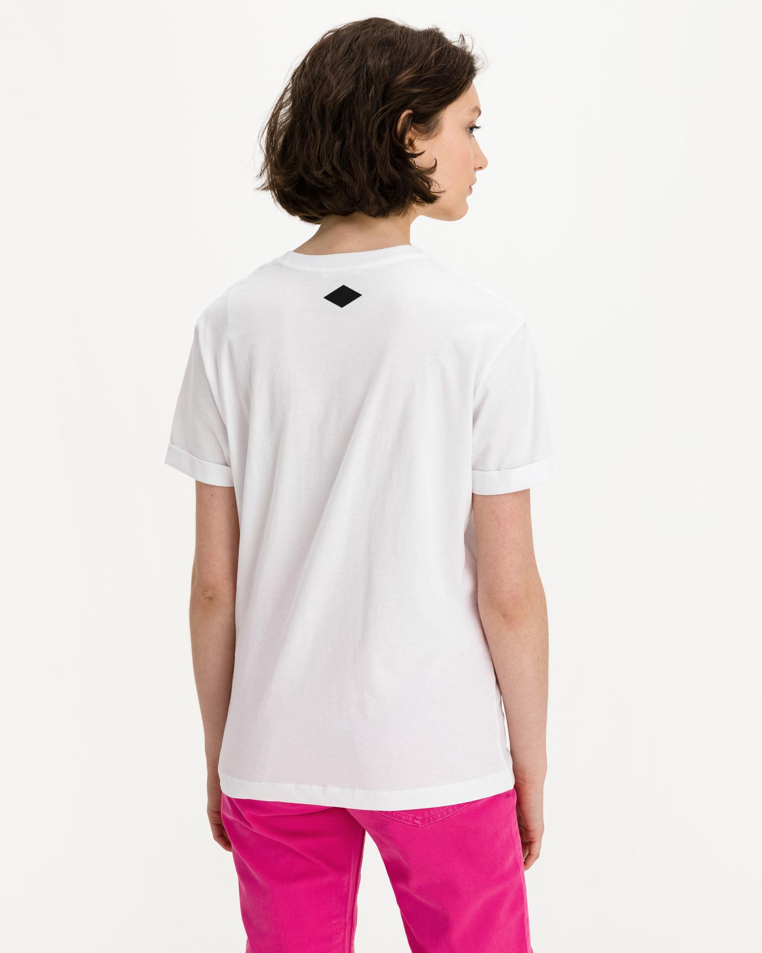 Replay Maglietta donna bianco