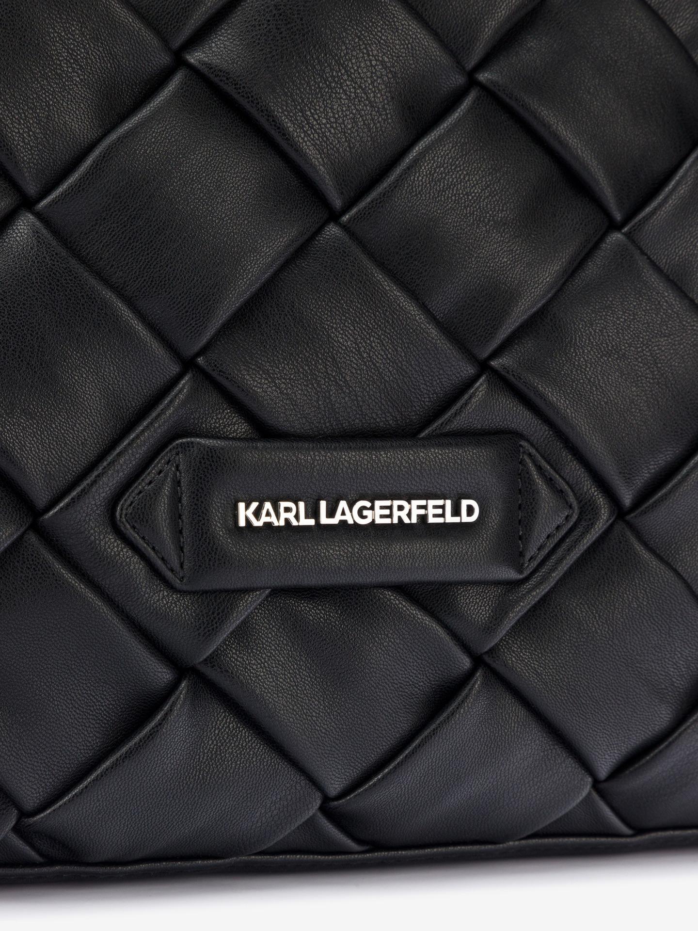 KARL LAGERFELD Borsetta donna nero  Braid