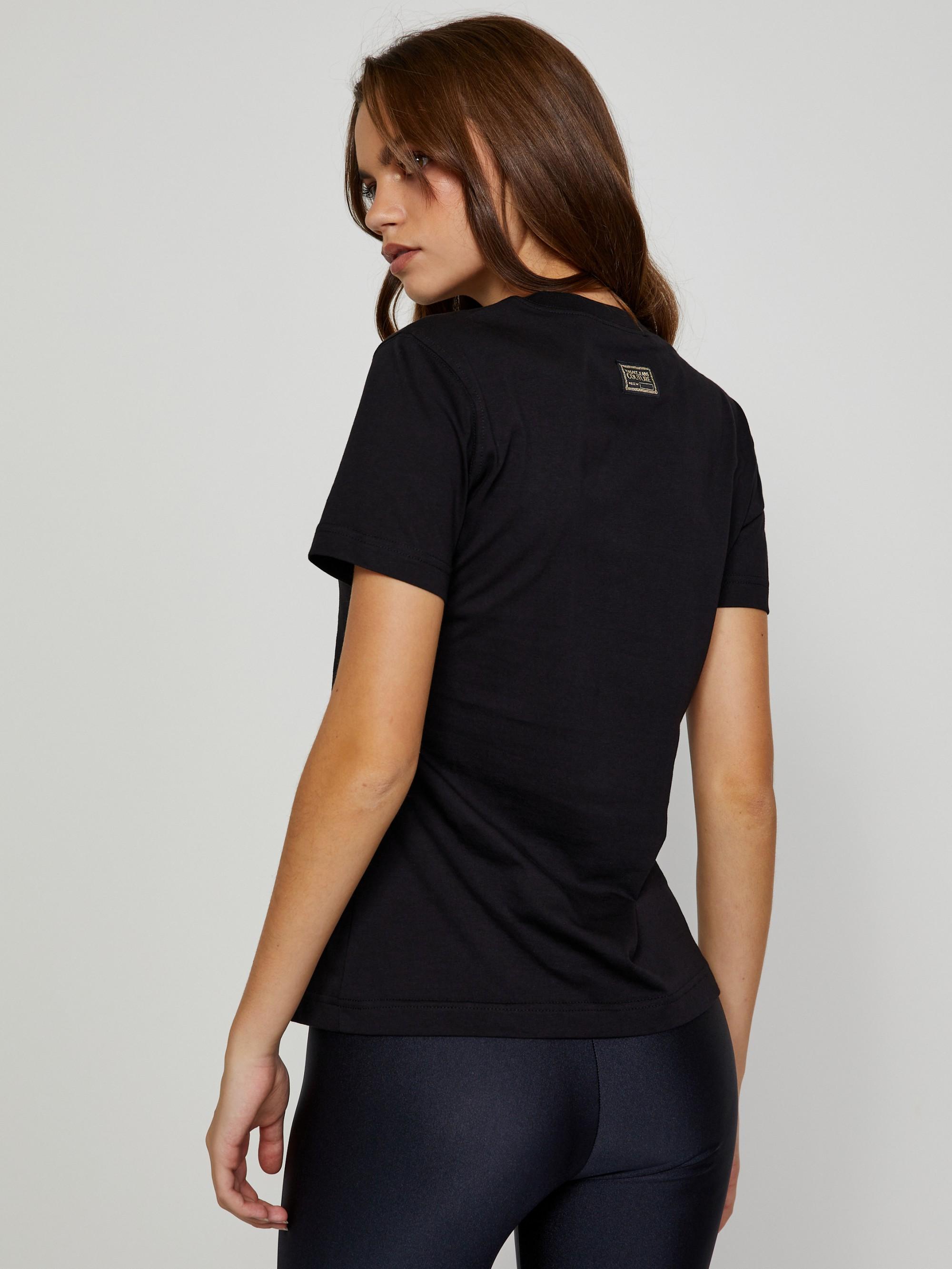 Versace Jeans Couture Maglietta donna nero  Small