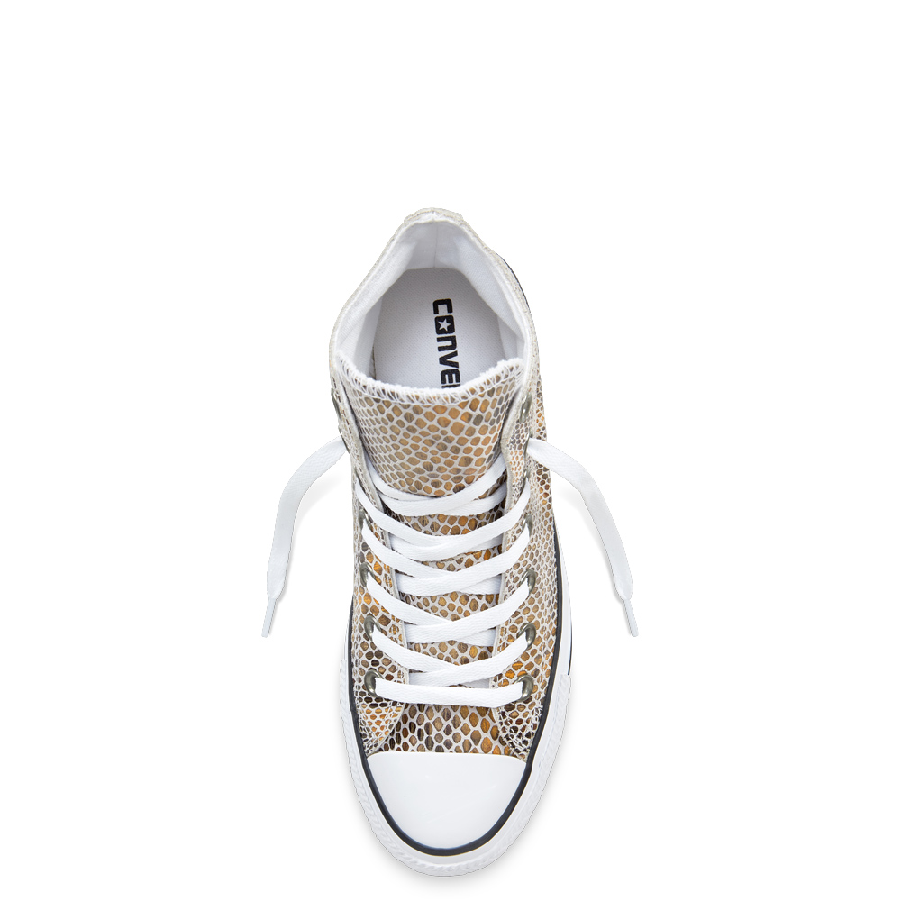 Converse Leather Shoes con Chuck Taylor All Star Gonna a serpente ...