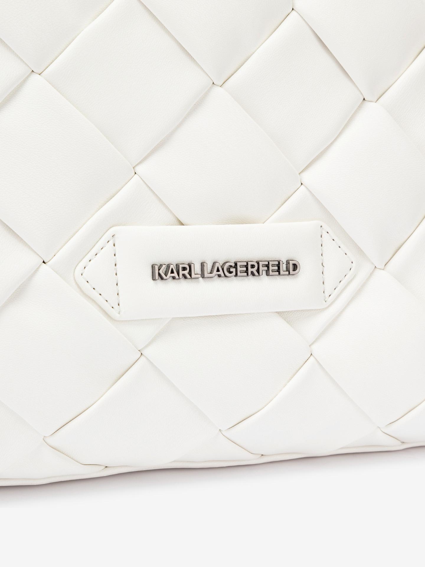 KARL LAGERFELD Borsetta donna bianco  Braid