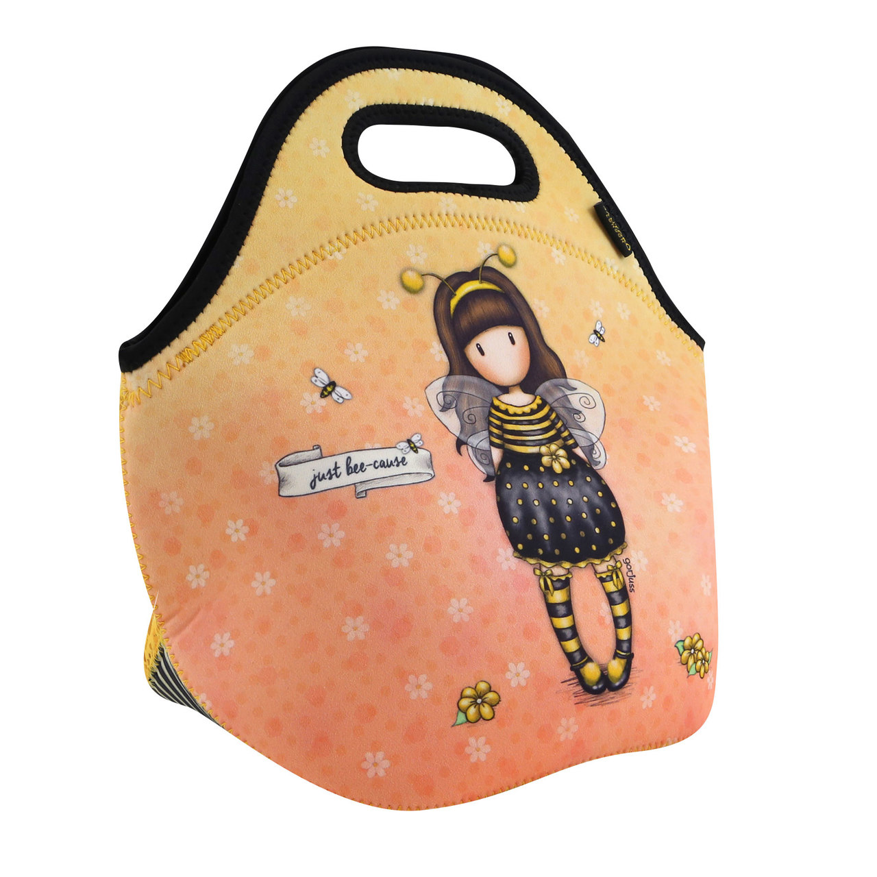 Santoro giallo borsa Gorjuss Bee-Loved (Just Bee-Cause)