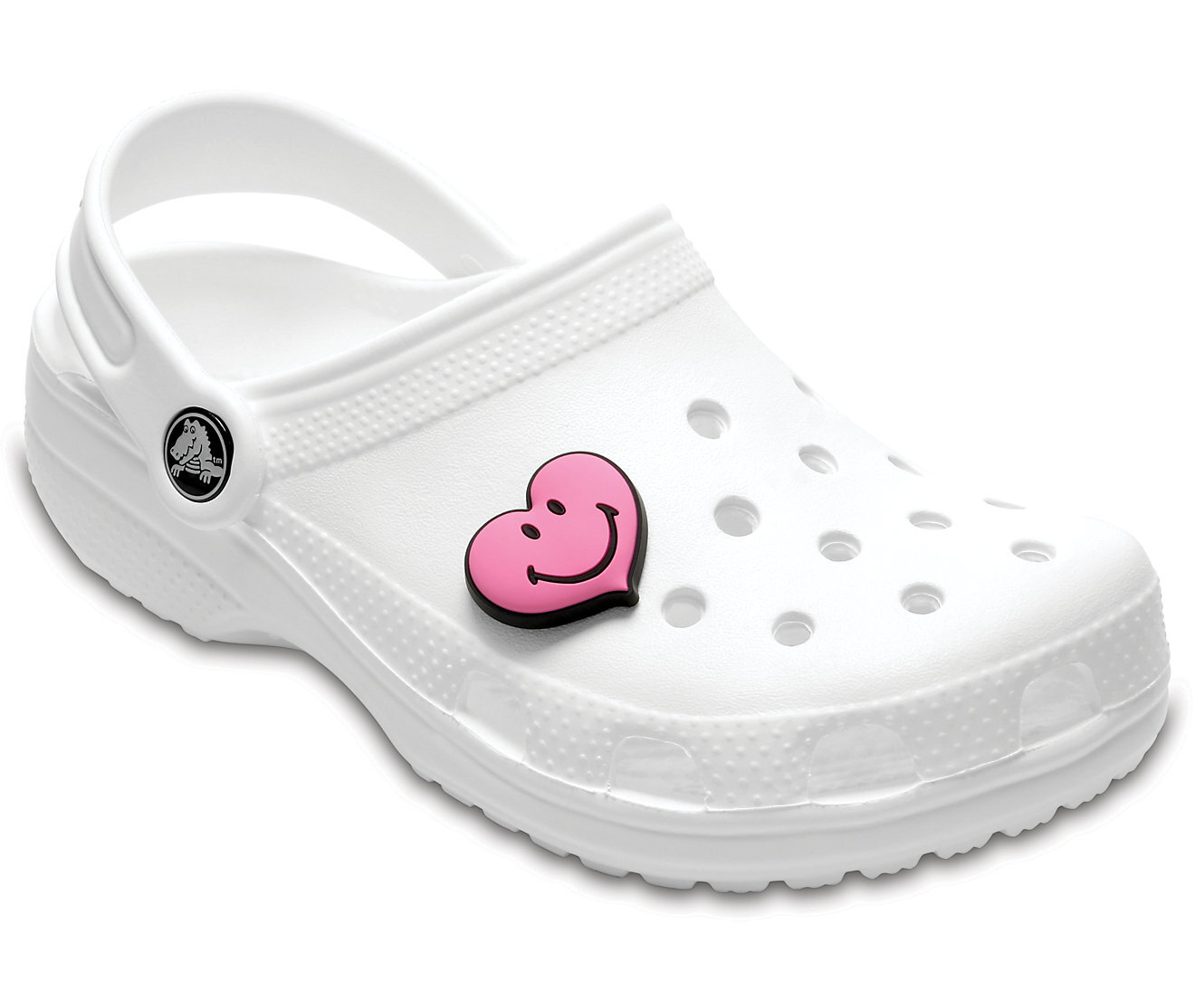 Crocs rosa Smiley Heart
