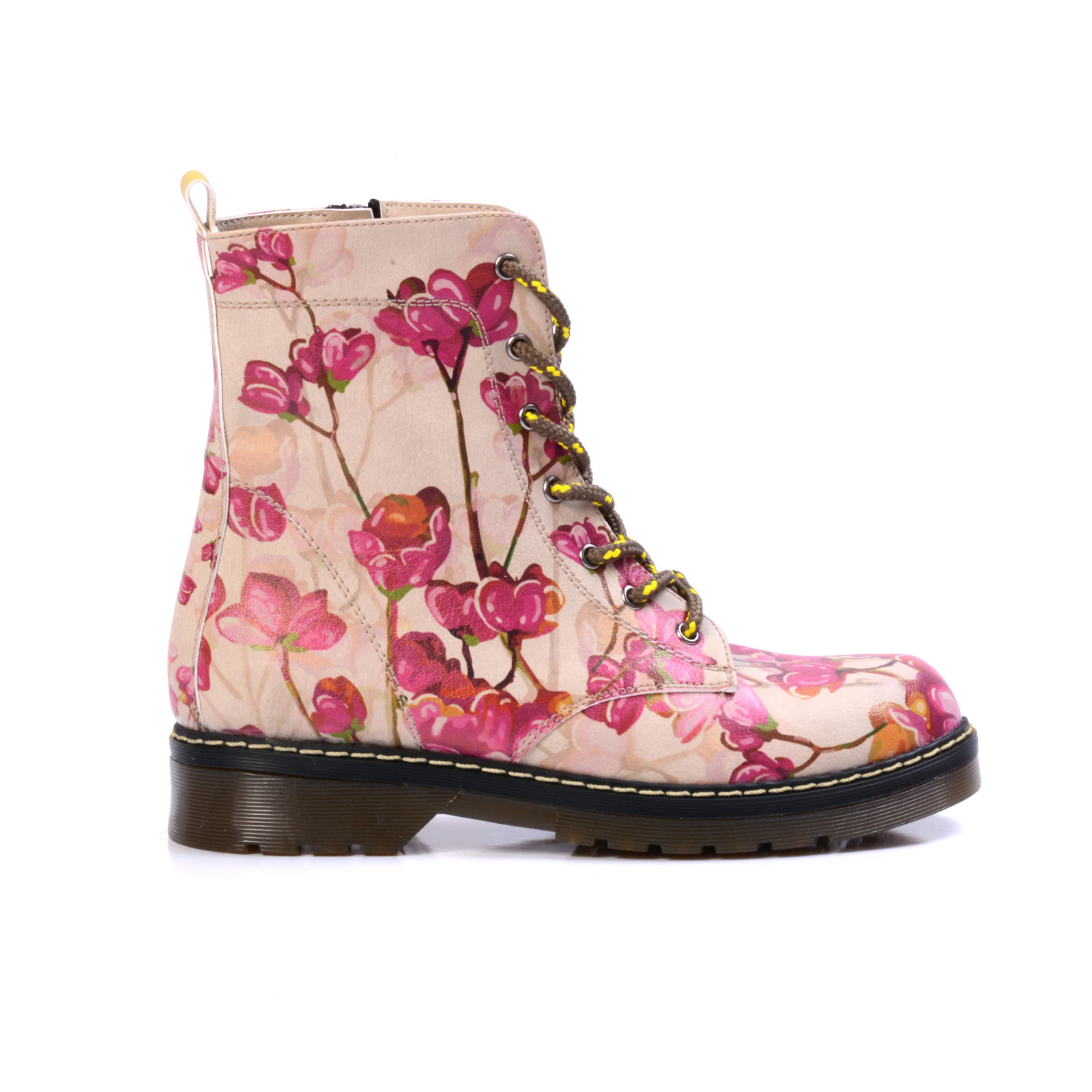 Goby scarpe Pink Flowers rosa