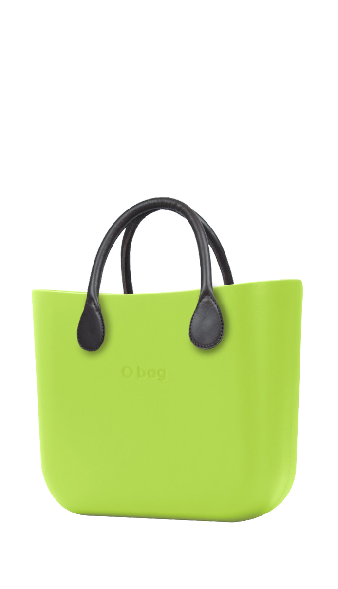 Borsa O bag MINI Green Apple/Mela con manico corto Grafitte
