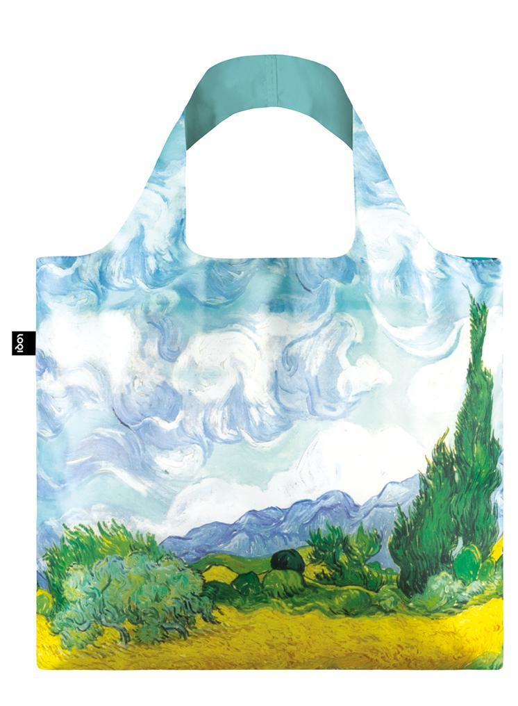 Loqi multicolore borsa Vincent Van Gogh A Wheat bField with Cypresses