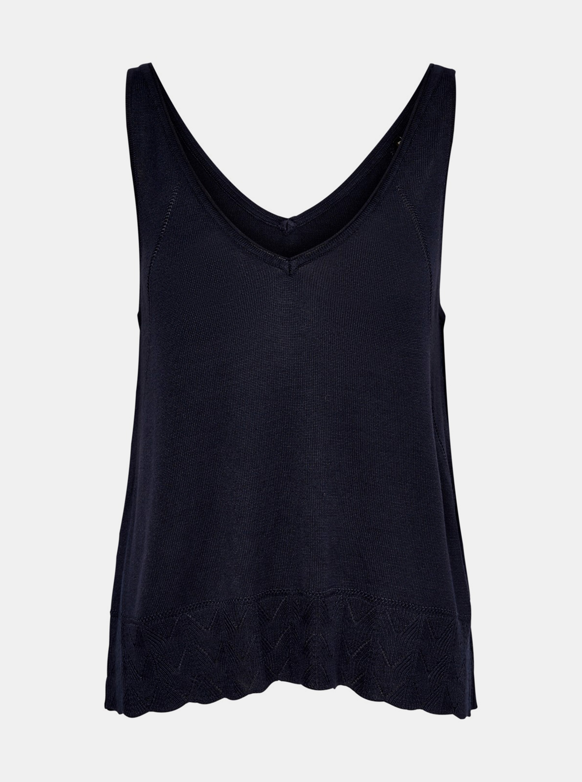Top blu scuro SOLO Loa