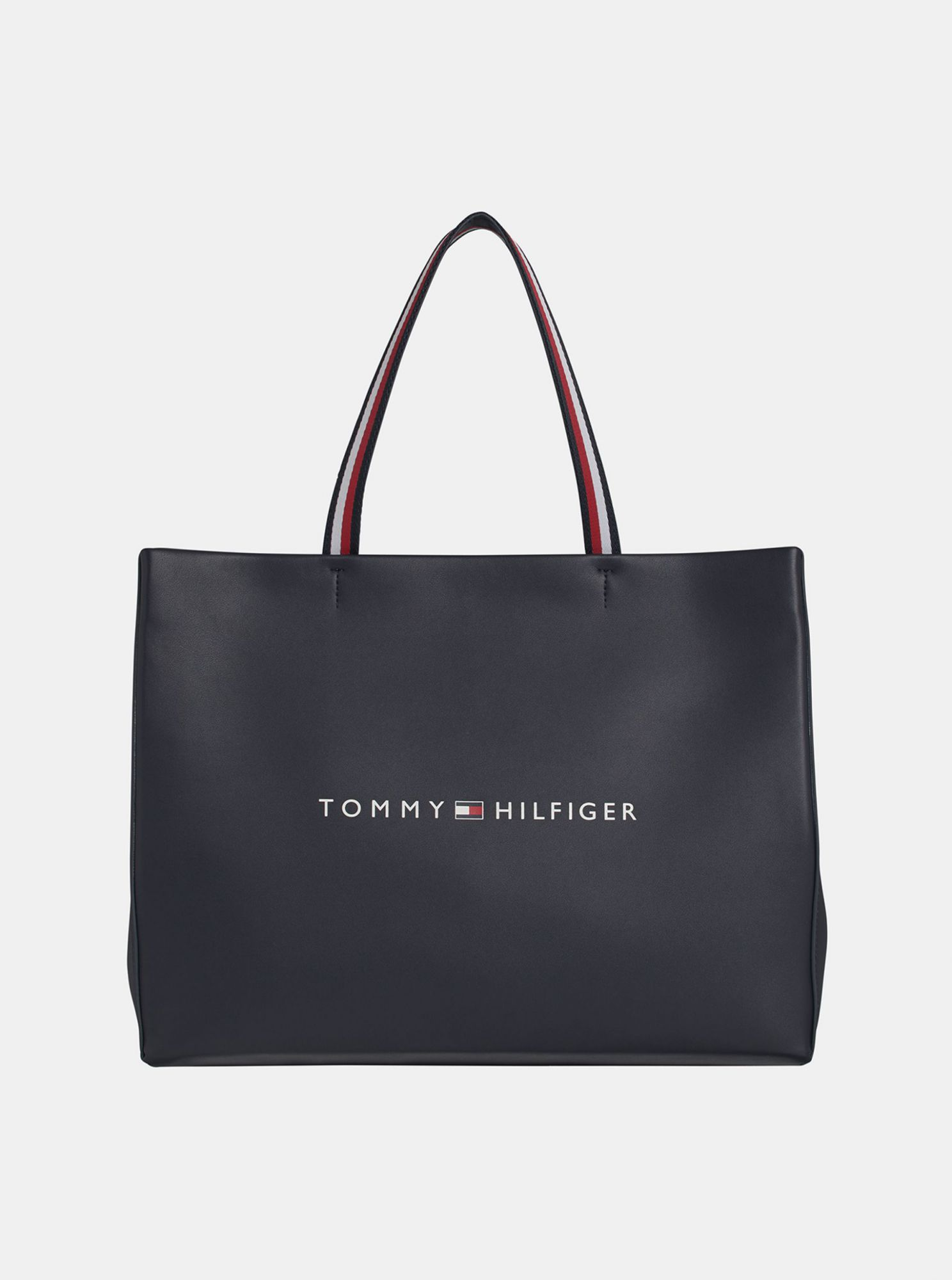 Shopper blu scuro Tommy Hilfiger