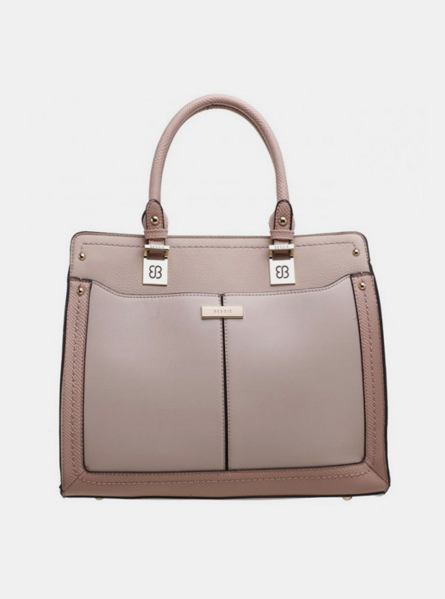 Borsa Bessie London rosa antico