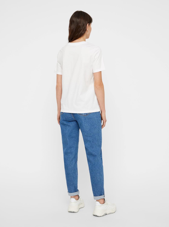Maglietta basic bianca Pezzi Ria
