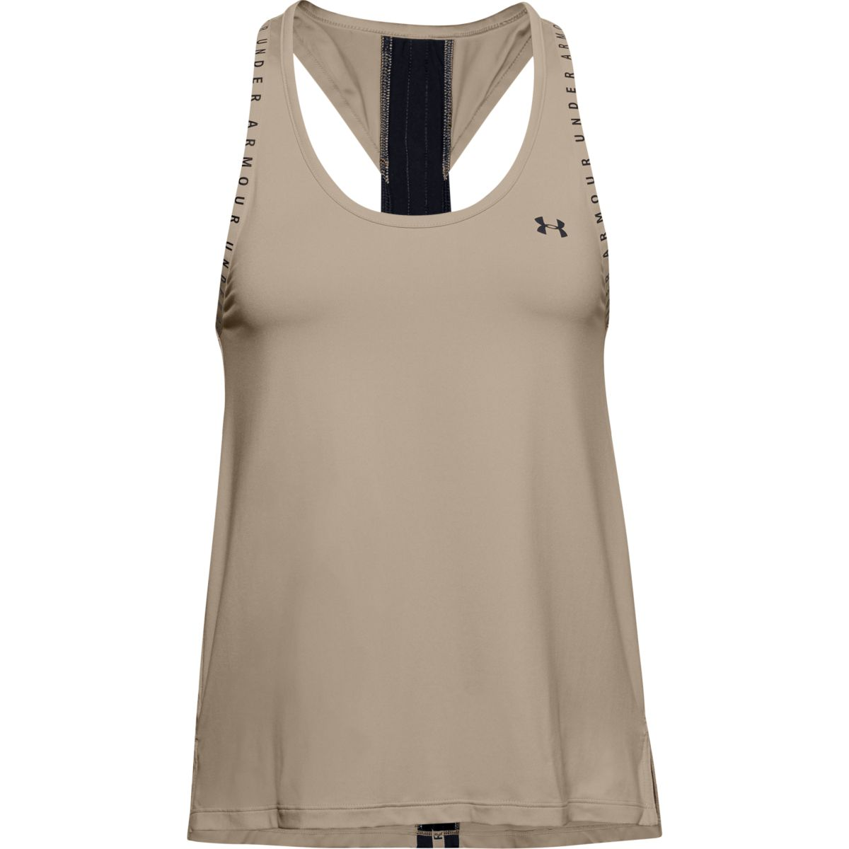 Top Under Armour UA Knockout Tank-BRN