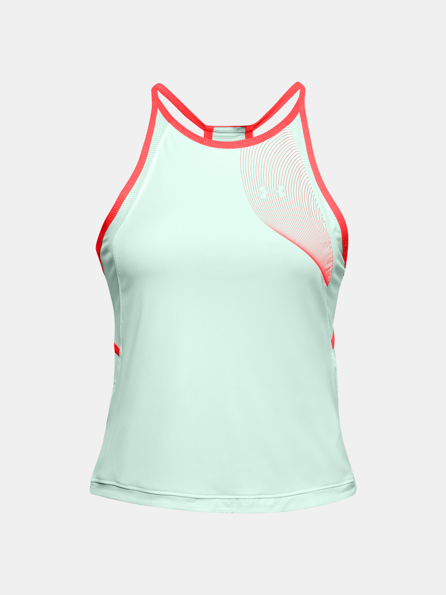 Top Under Armour W UA Qualifier ISO-CHILL Tank-BLU