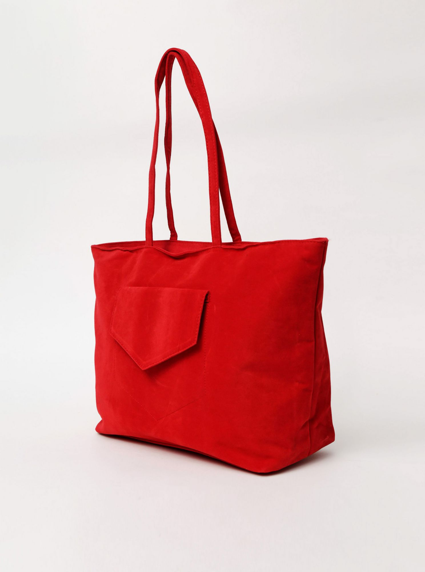 Borsa rossa in camoscio Haily's Shoppy