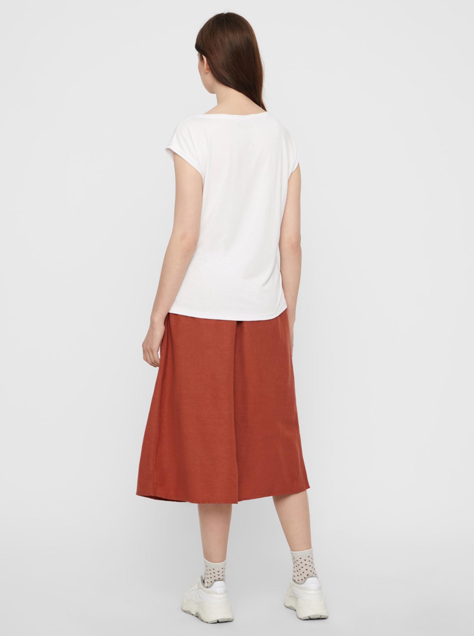 Maglietta basic bianca Pezzi Kamala