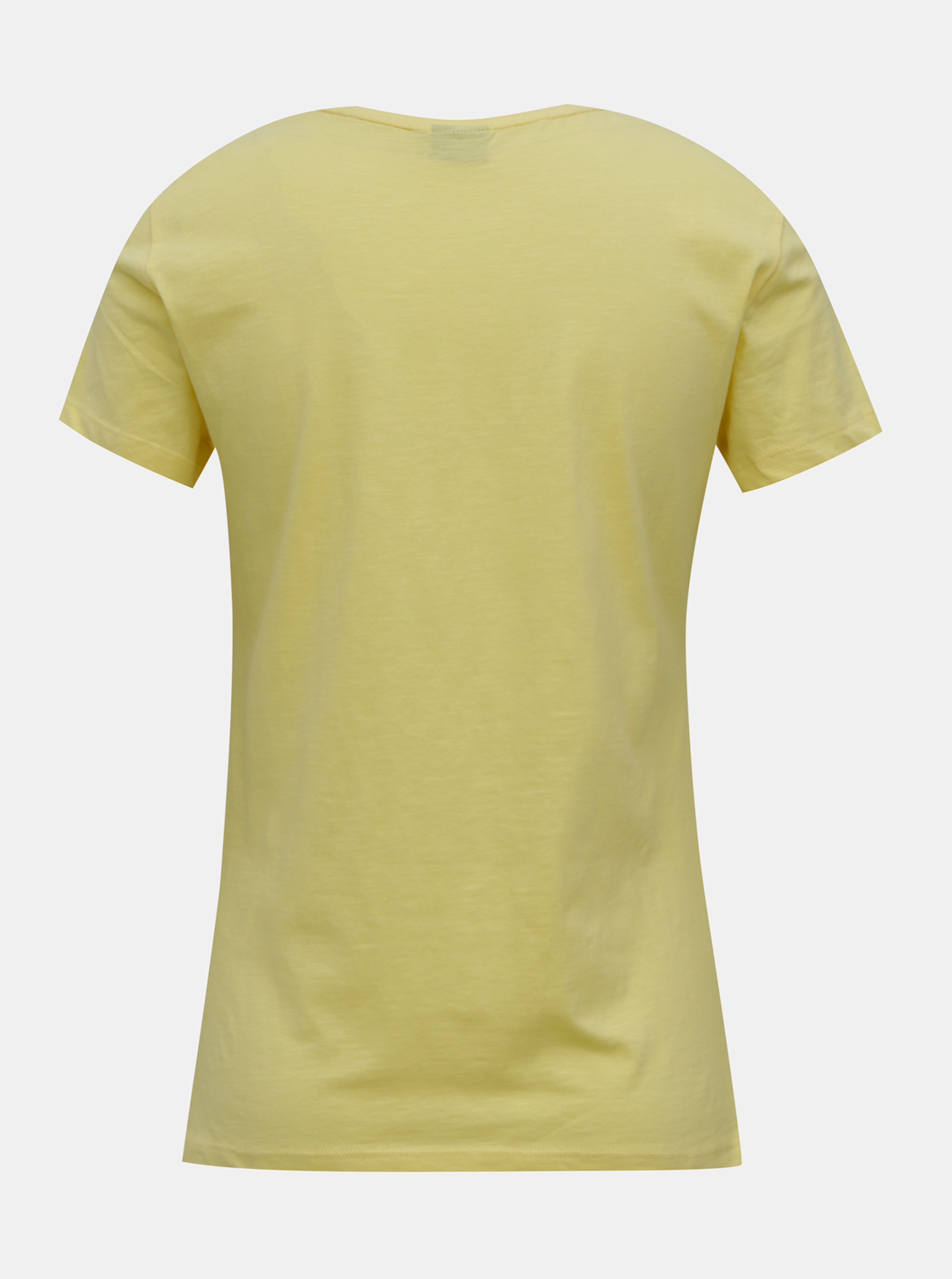 T-shirt gialla con stampa ONLY Peanuts