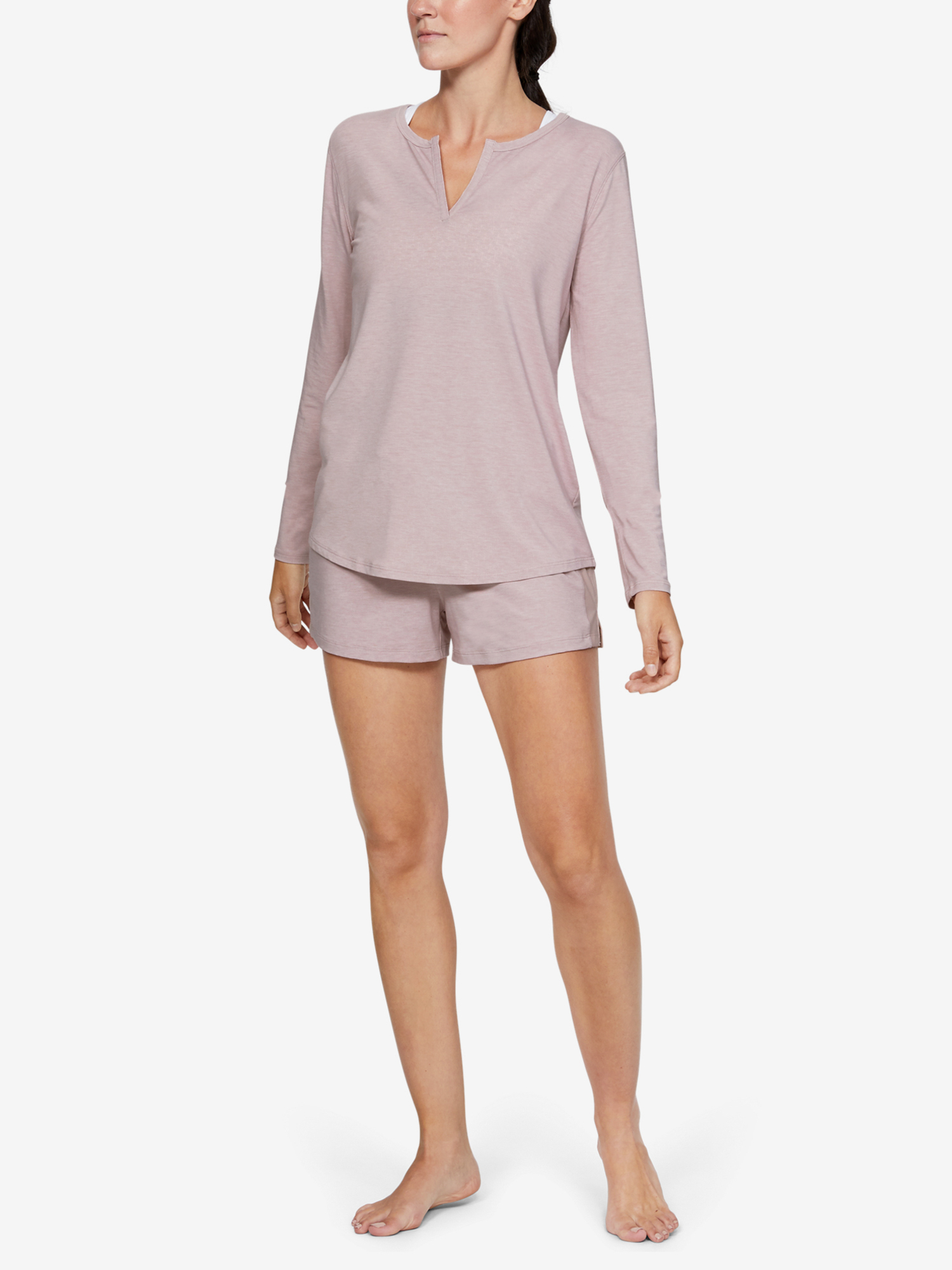 Maglietta polo Under Armour Recovery Sleepwear Longsleeve