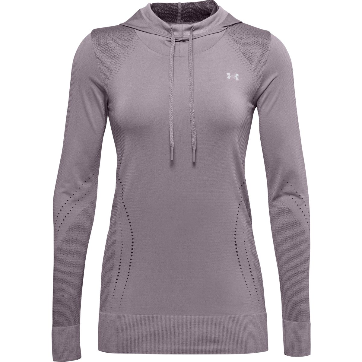 Felpa Under Armour UA Seamless Hoodie-PPL