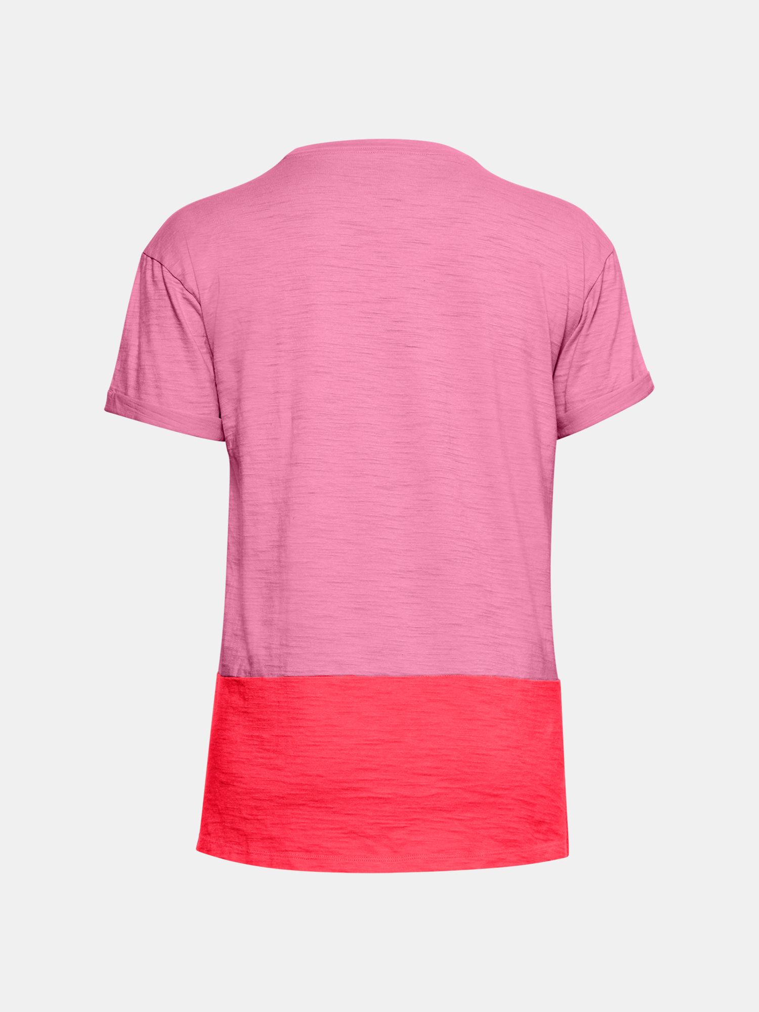 Maglietta polo Under Armour Charged Cotton SS-PNK