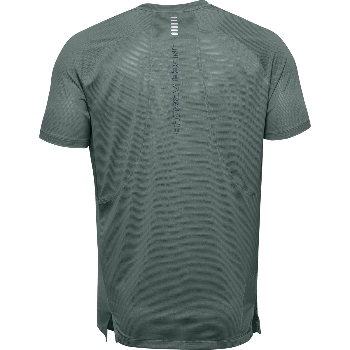 UA M Qualifier ISO-CHILL Short Sleeve-BL
