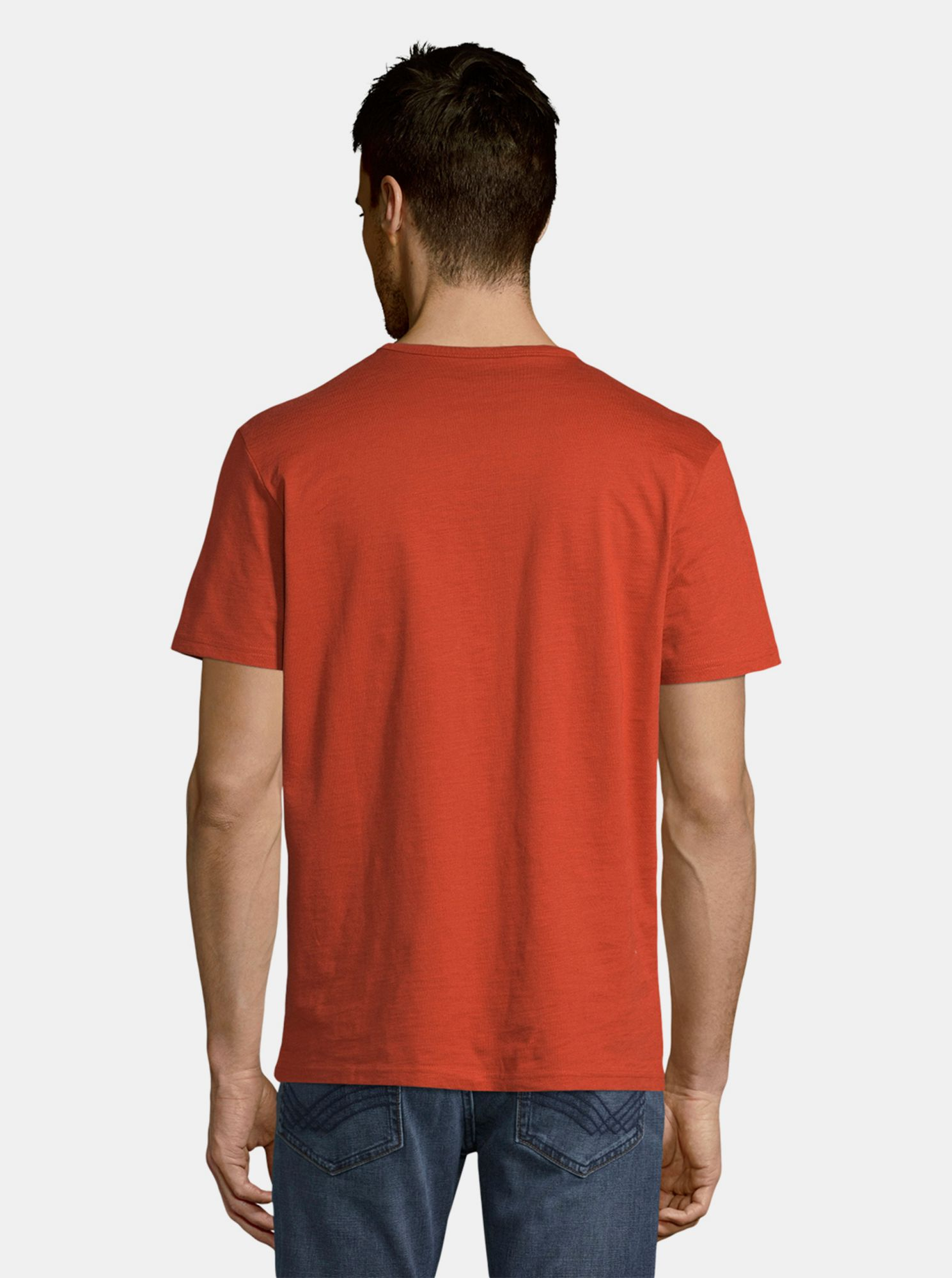 T-shirt rossa da uomo Tom Tailor