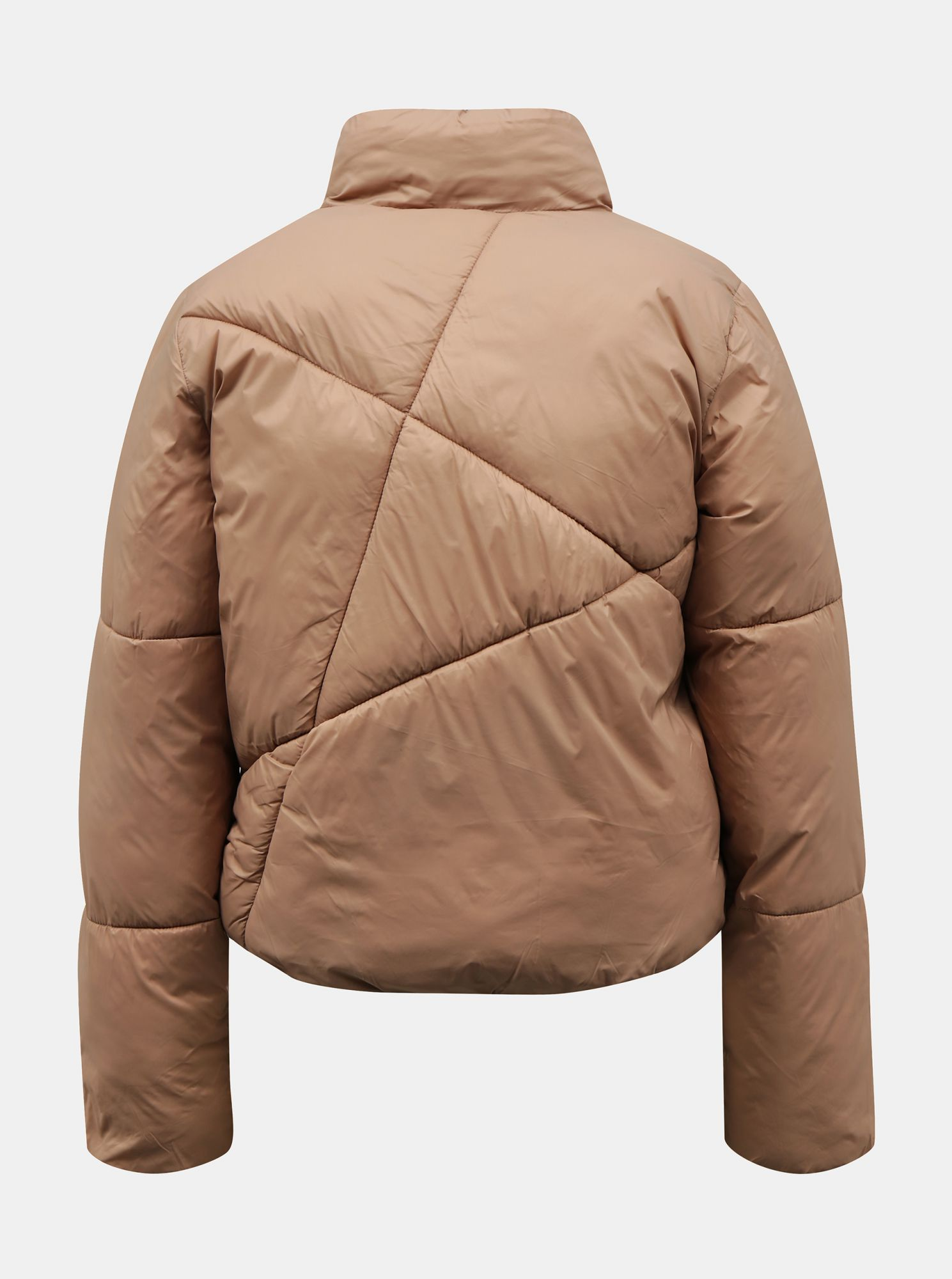 Giacca trapuntata invernale beige Jacqueline de Yong Timber