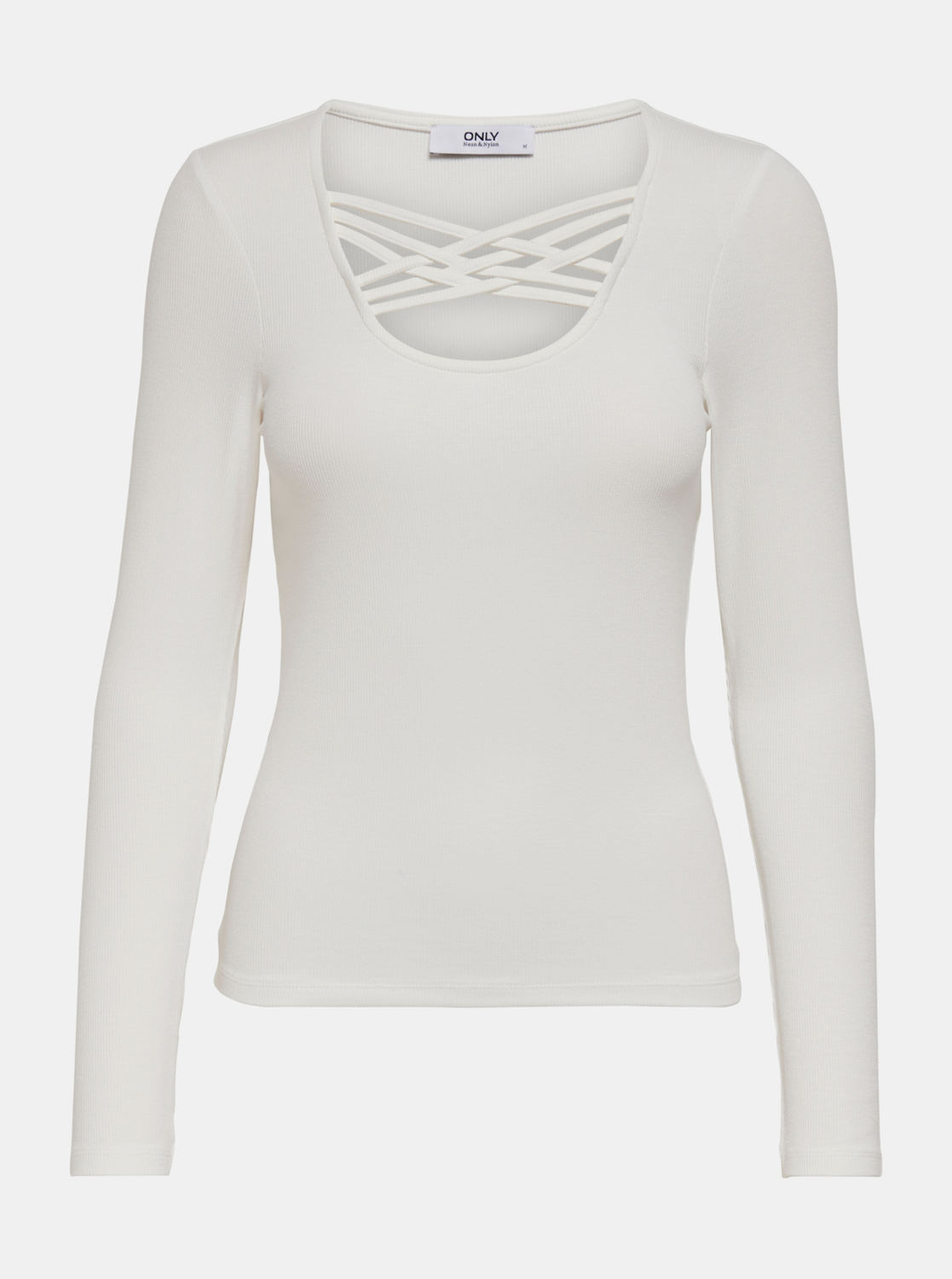 T-shirt bianca SOLO Mary