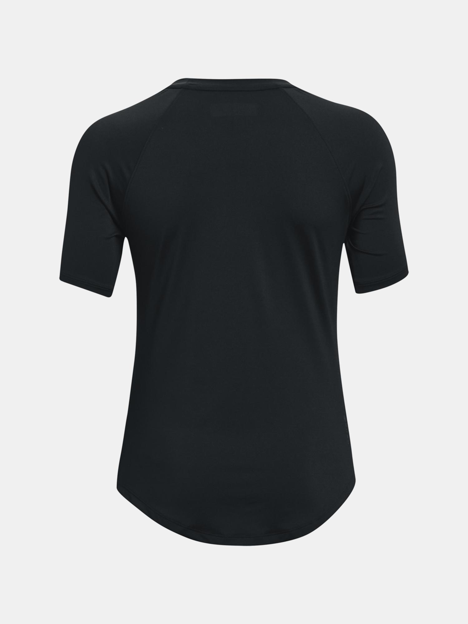 Under Armour da donna maglietta UA Rush SS-BLK
