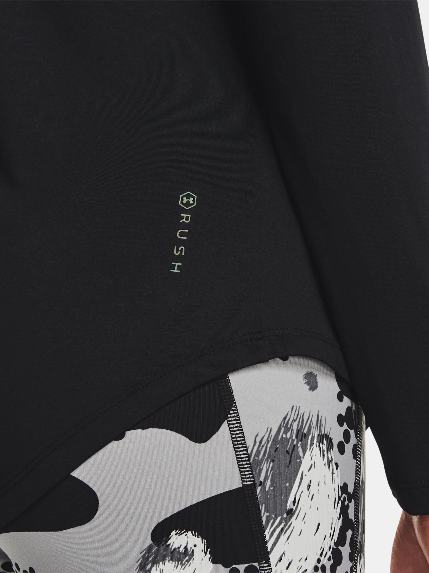 Under Armour da donna maglietta UA Rush LS-BLK
