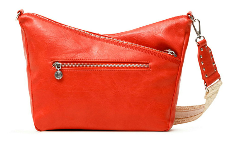 Desigual rosso crossbody borsetta Bols Lyrics Harry Mini