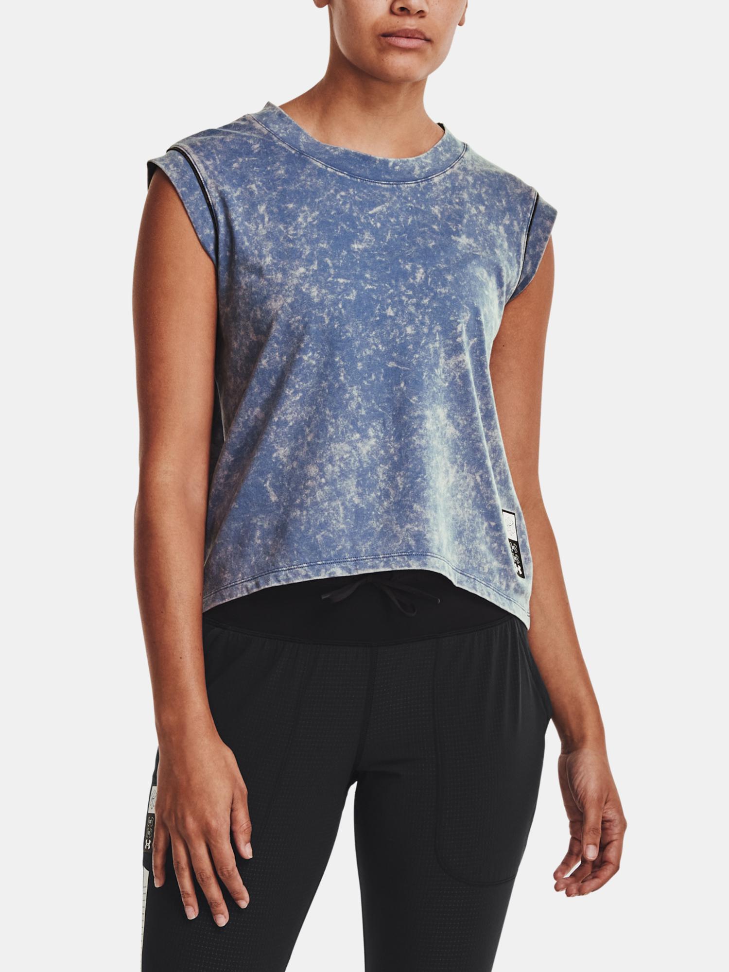 Under Armour da donna maglietta Run Anywhere Short Sleeve-BLU