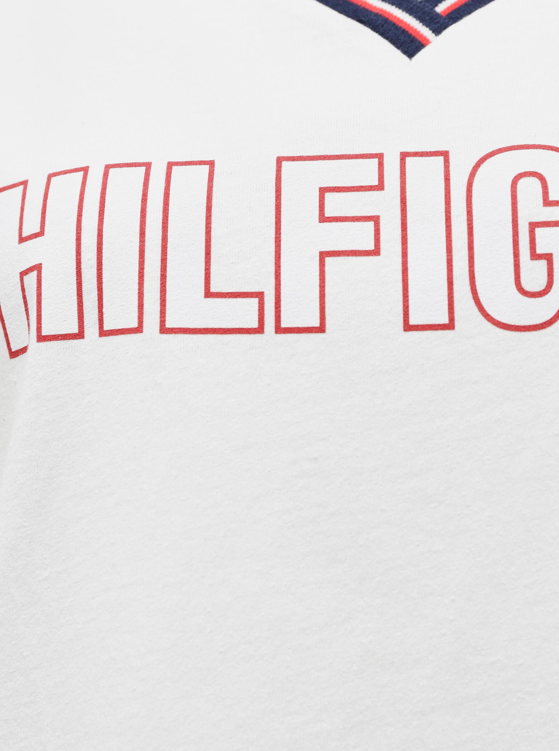 Tommy Hilfiger bianco da donna maglietta CN TEE SS con logo